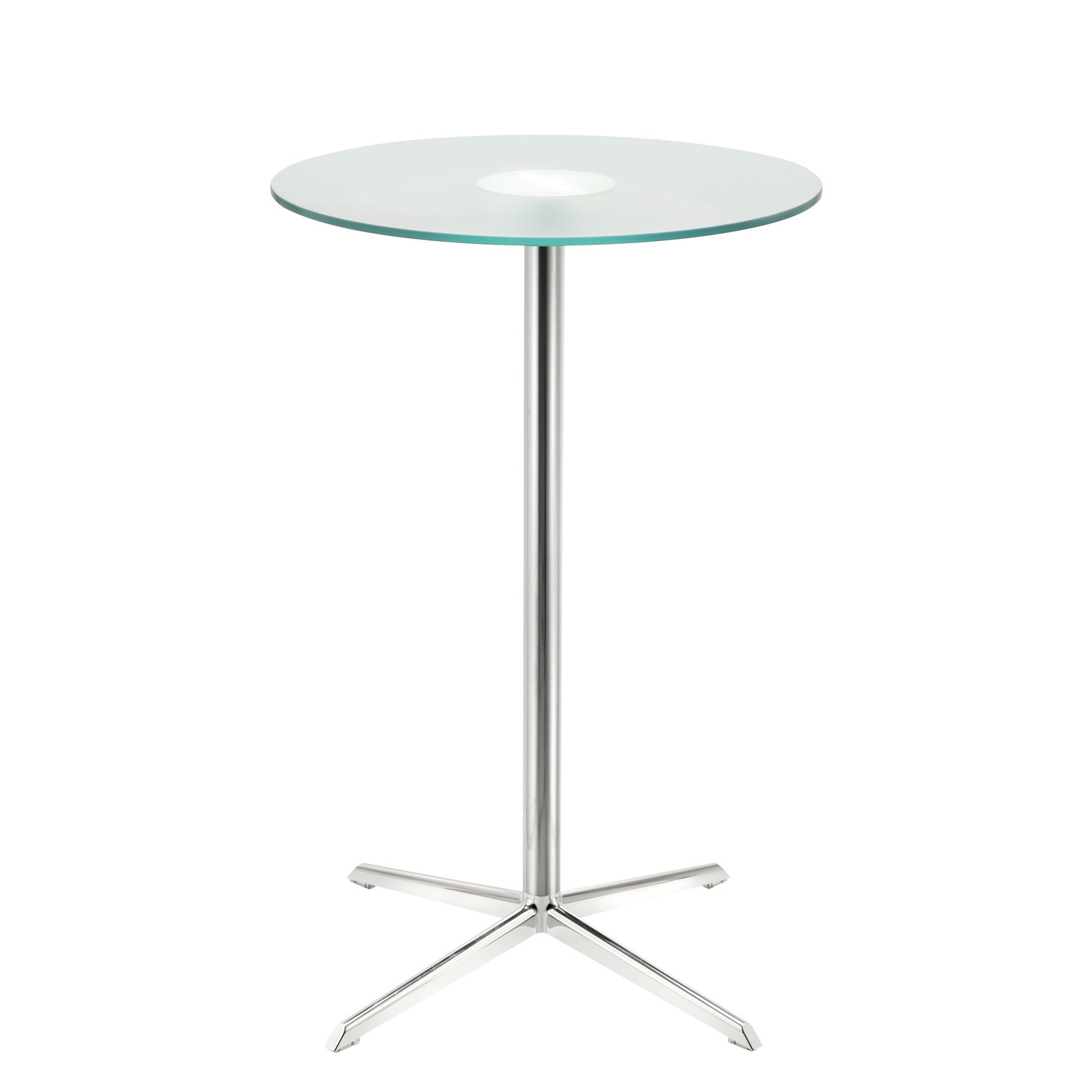 Gloss Poser Table with Safety Glass