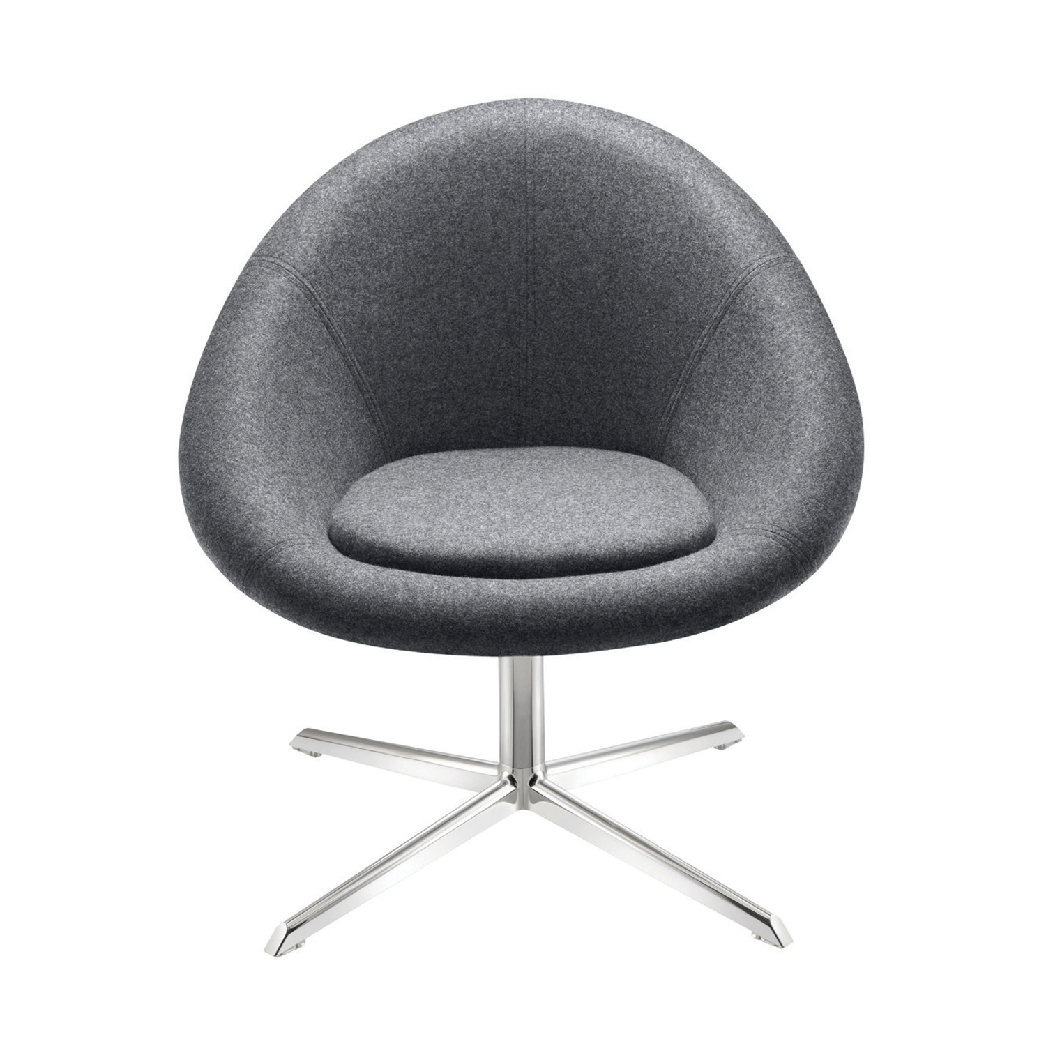 MGL1E Gloss Chair with 4-Star Base