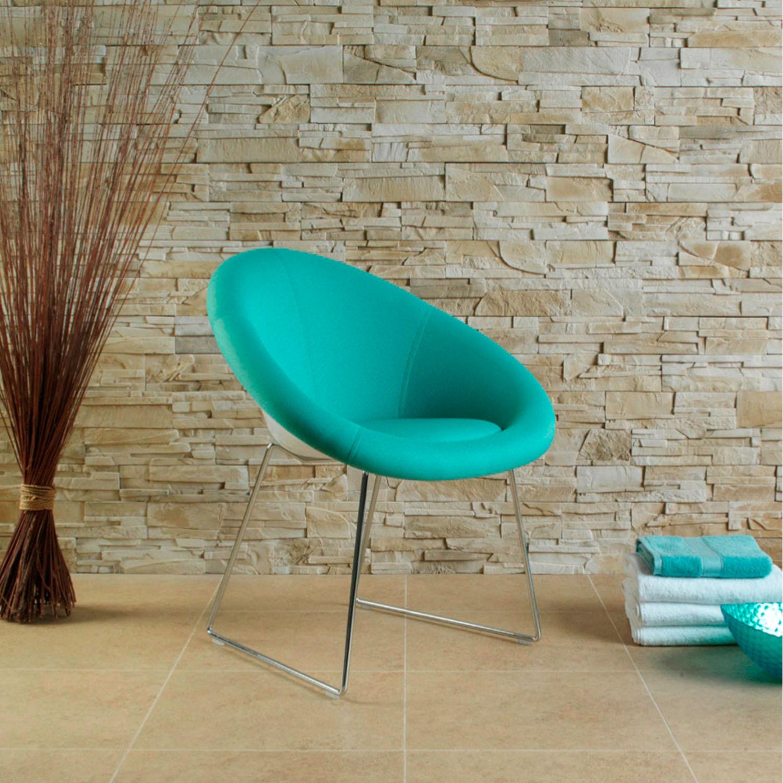 MGL1B Gloss Tub Chair with Sled Base