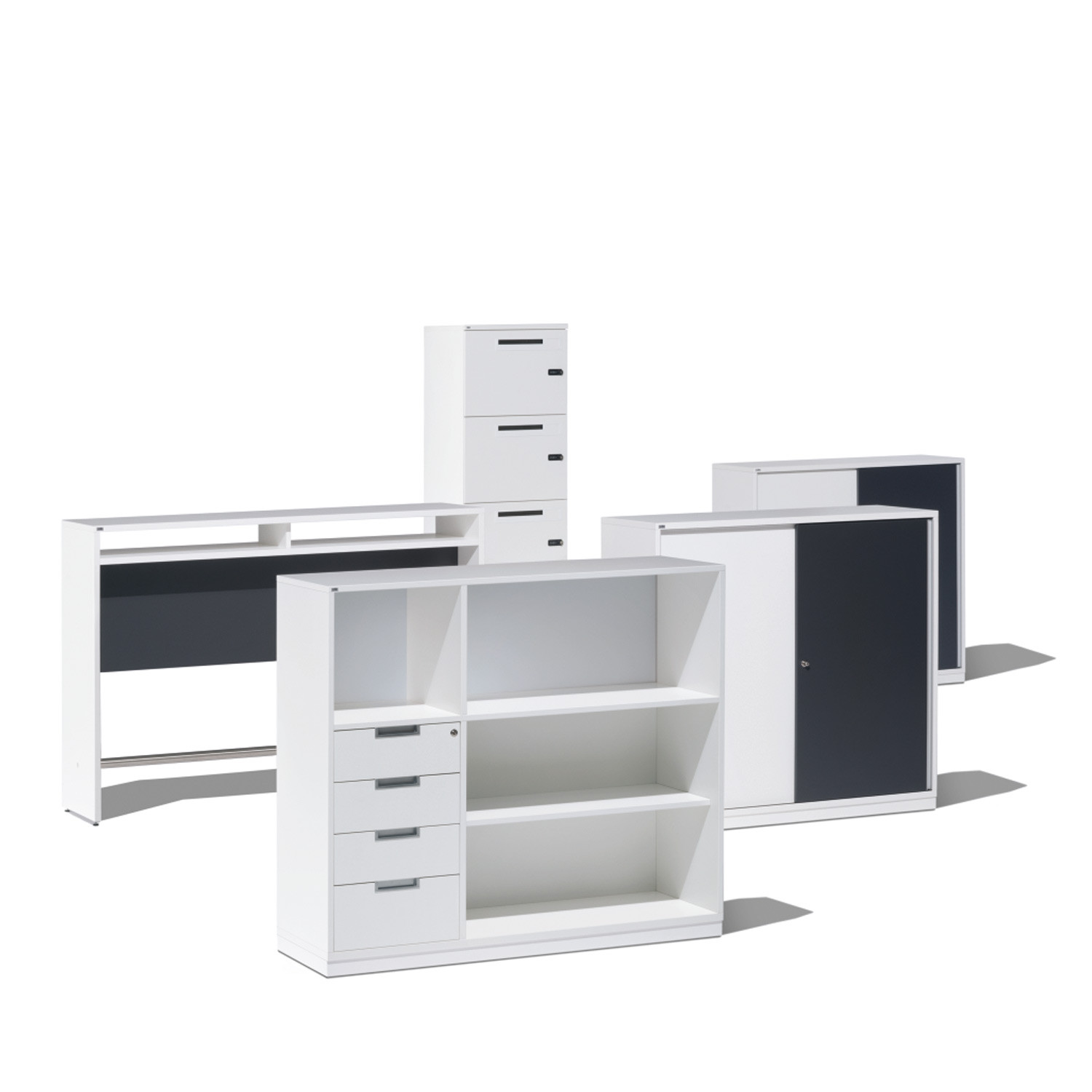 magazine bookcase office home neat storage ikea files kassett white expedit green boxes pin and