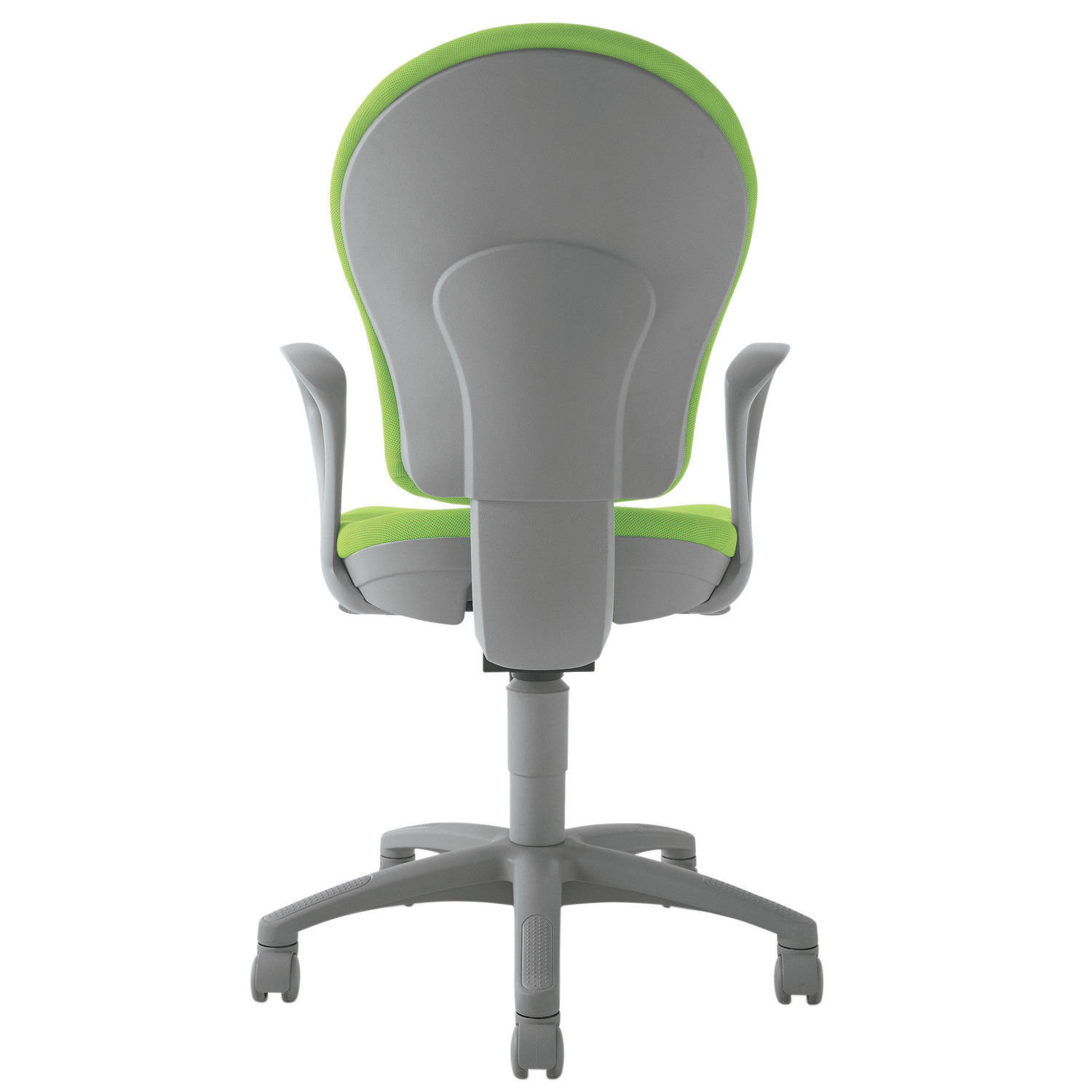 Gray Office Chair - Back Detail