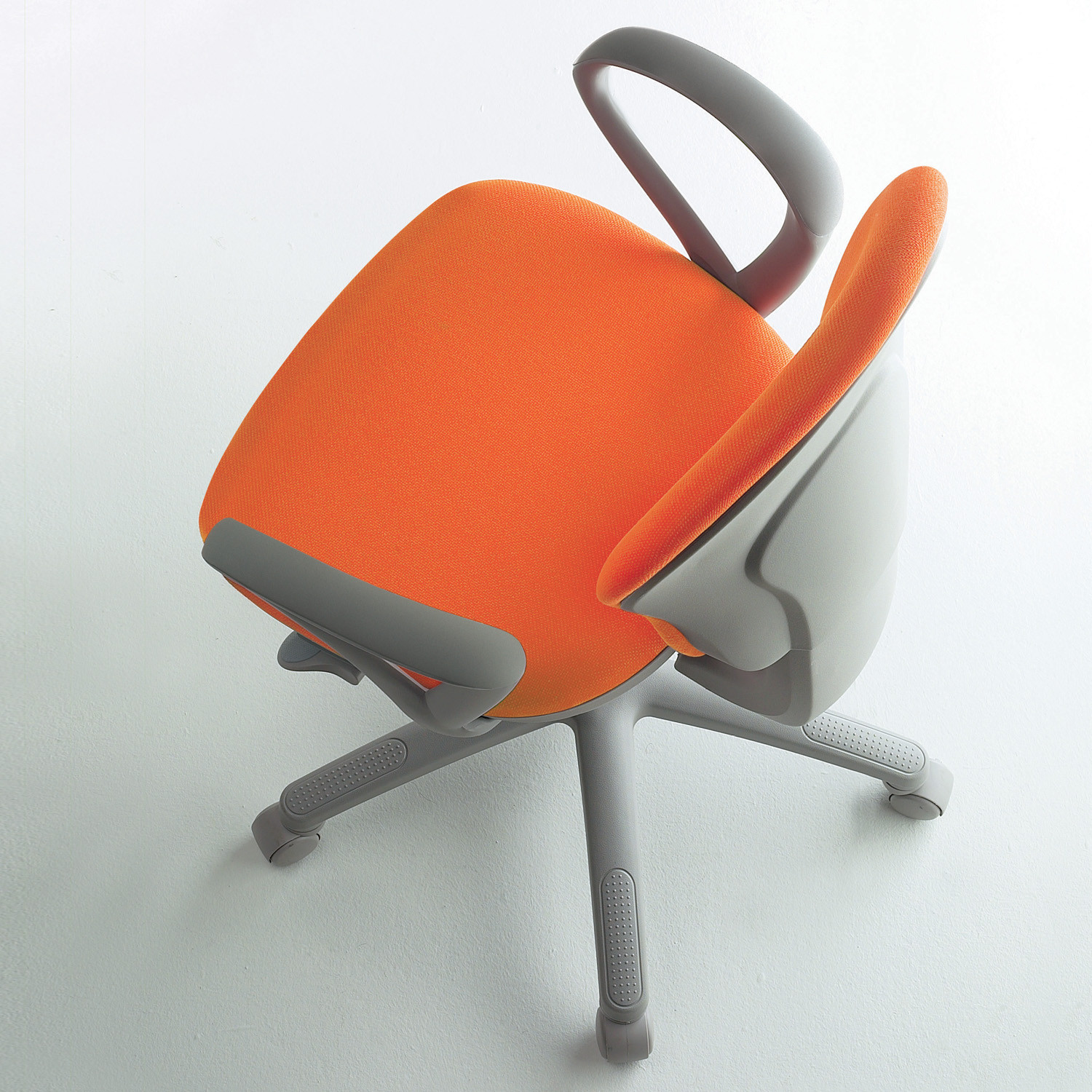Gray Swivel Office Chair