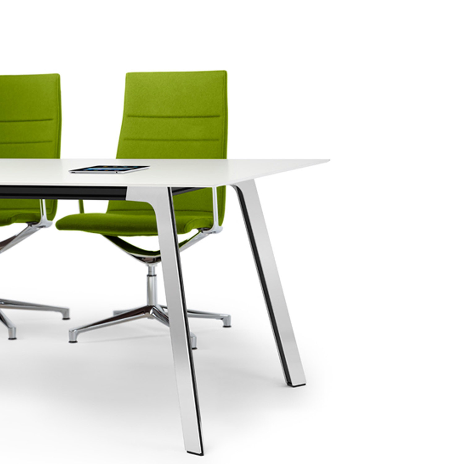 Groove Office Tables from Norbert Geelen