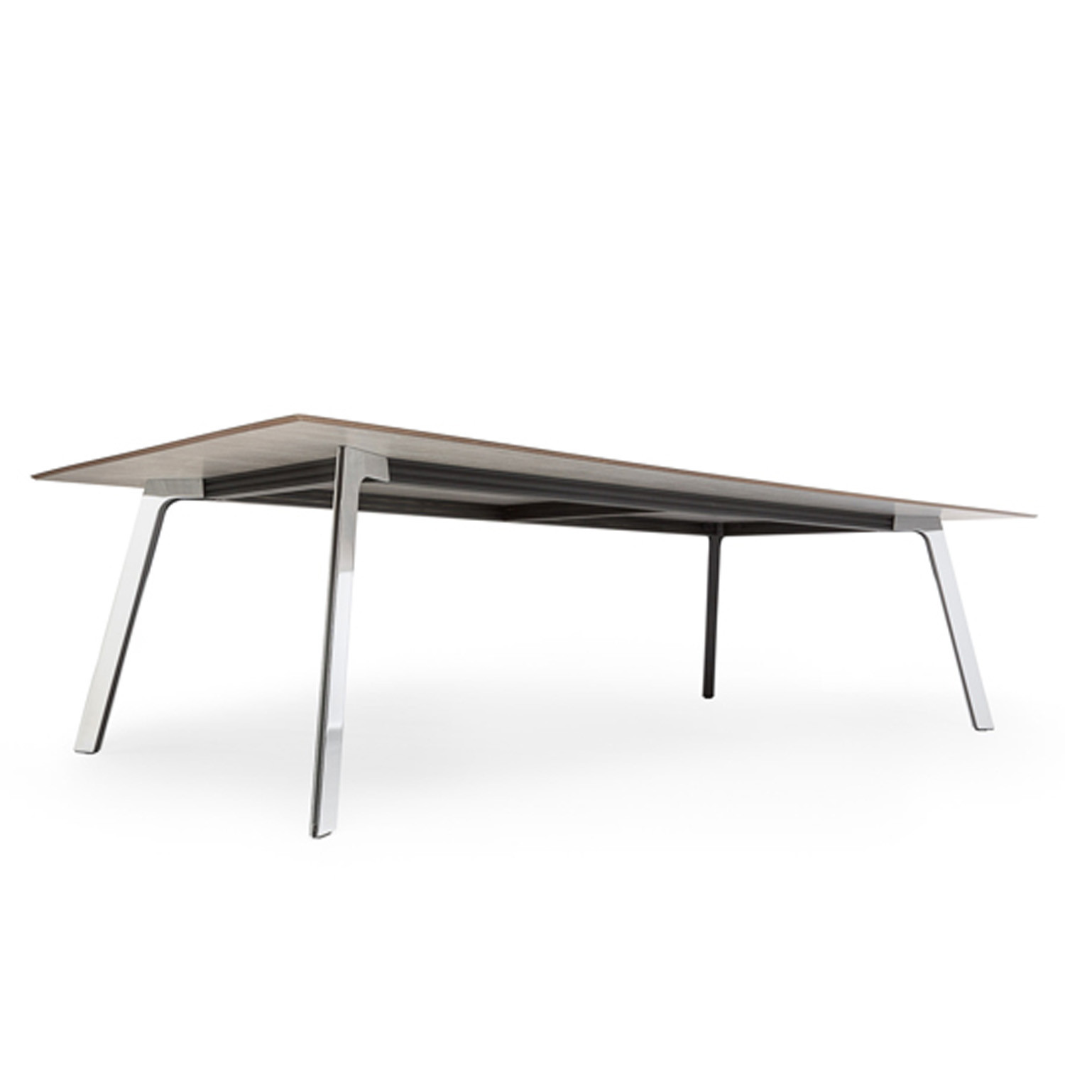 Groove Office Table Underside View