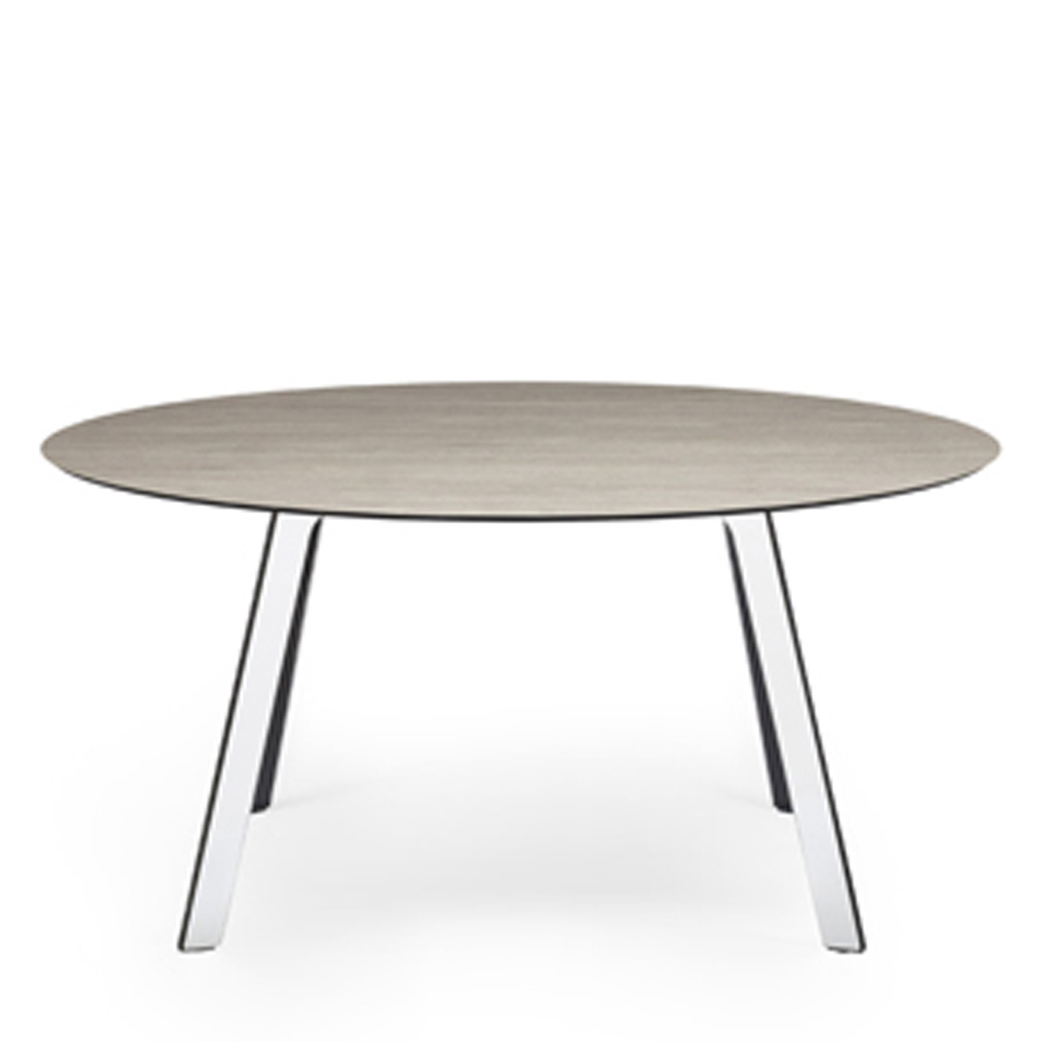 Groove Round Office Table