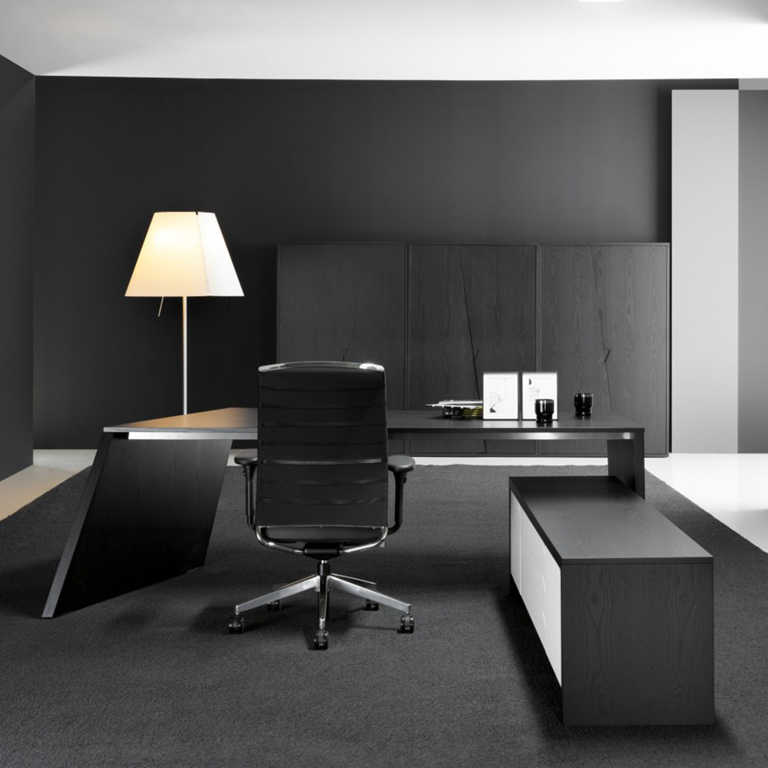 Origami Desk System Executive Furniture Apres Furniture