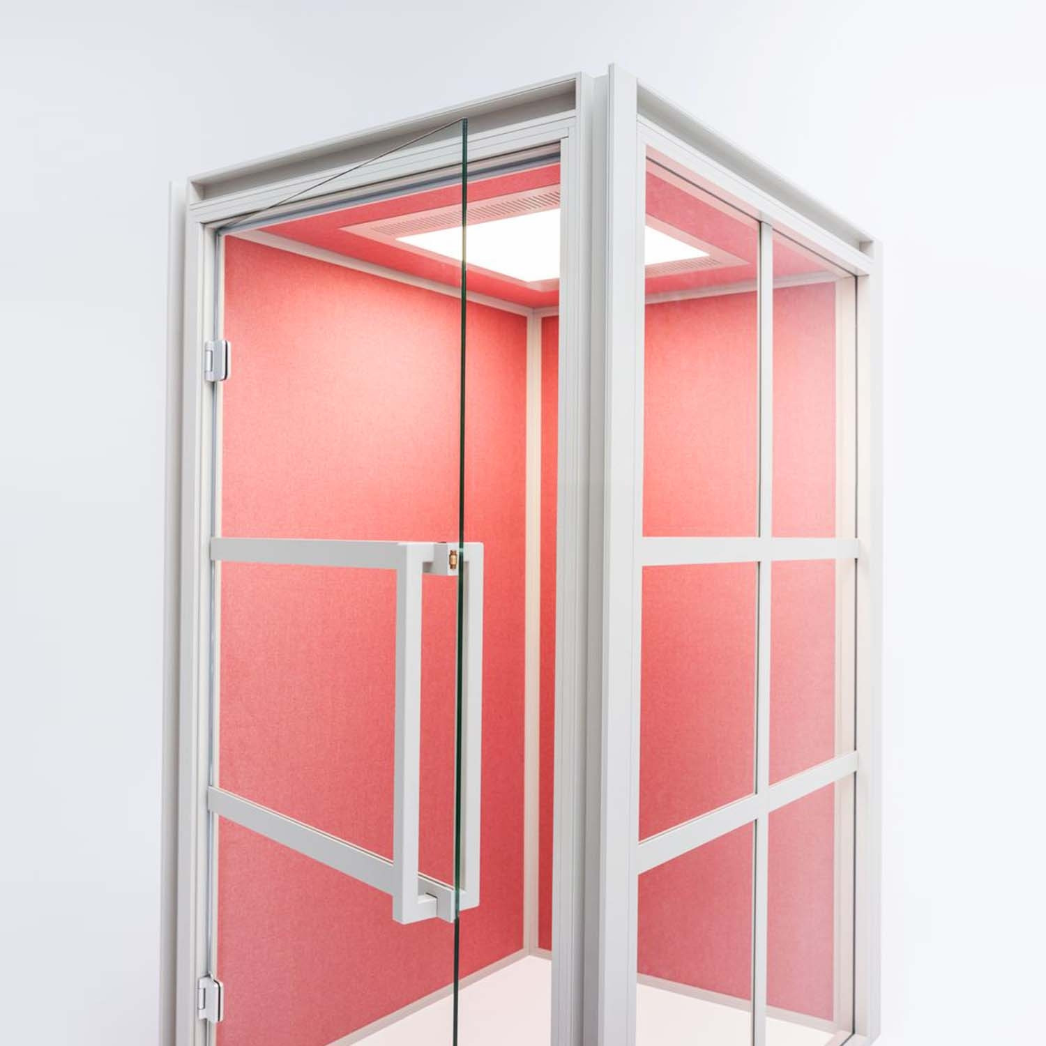 Hako Acoustic Phone Booth In Pink