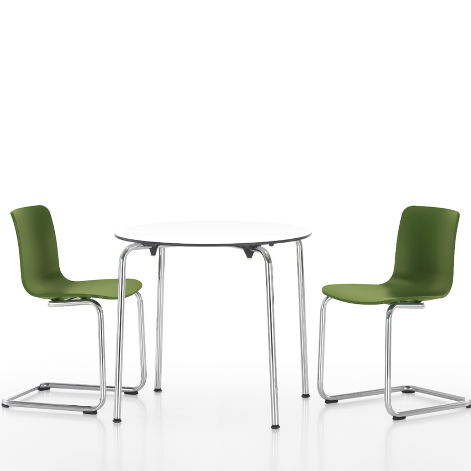 HAL Cantilever Chairs and HAL Table
