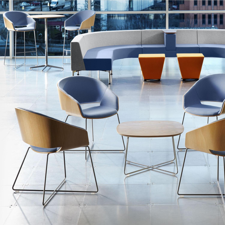 Halo Lounge Armchairs