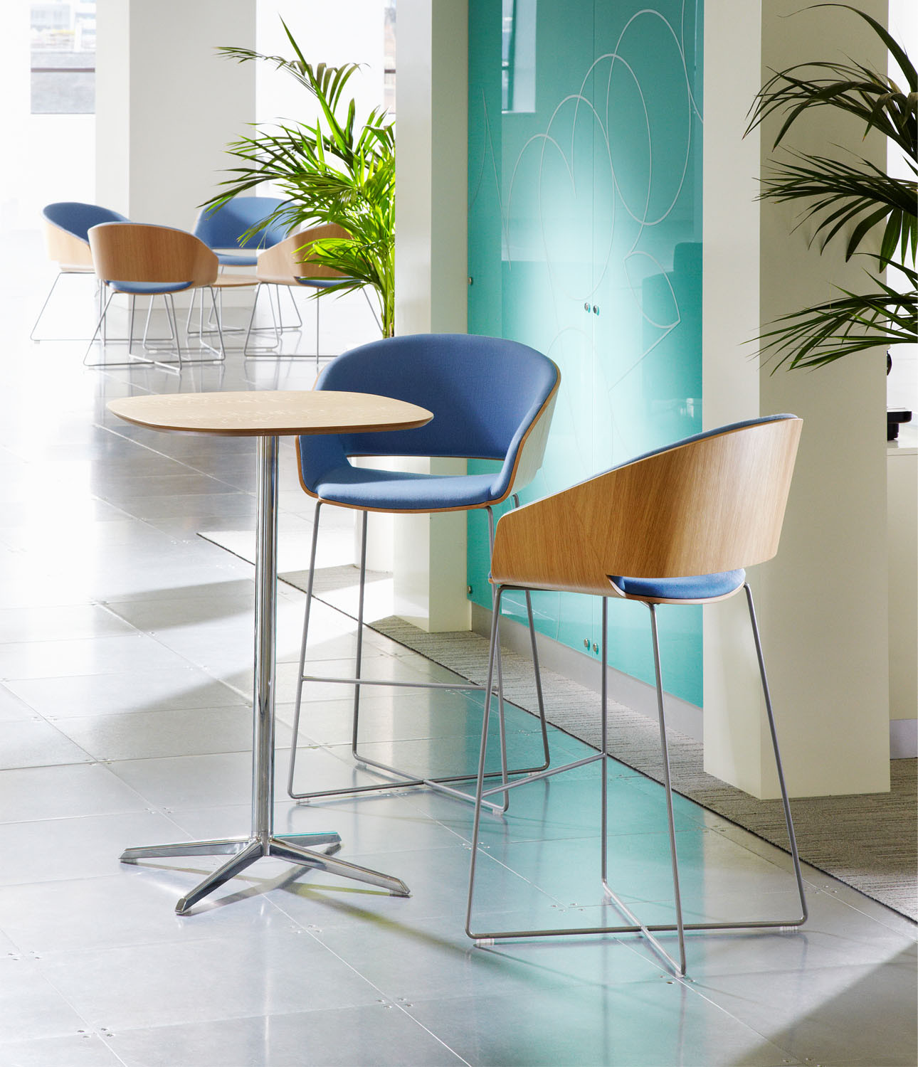 Halo Bar Stools by Connection