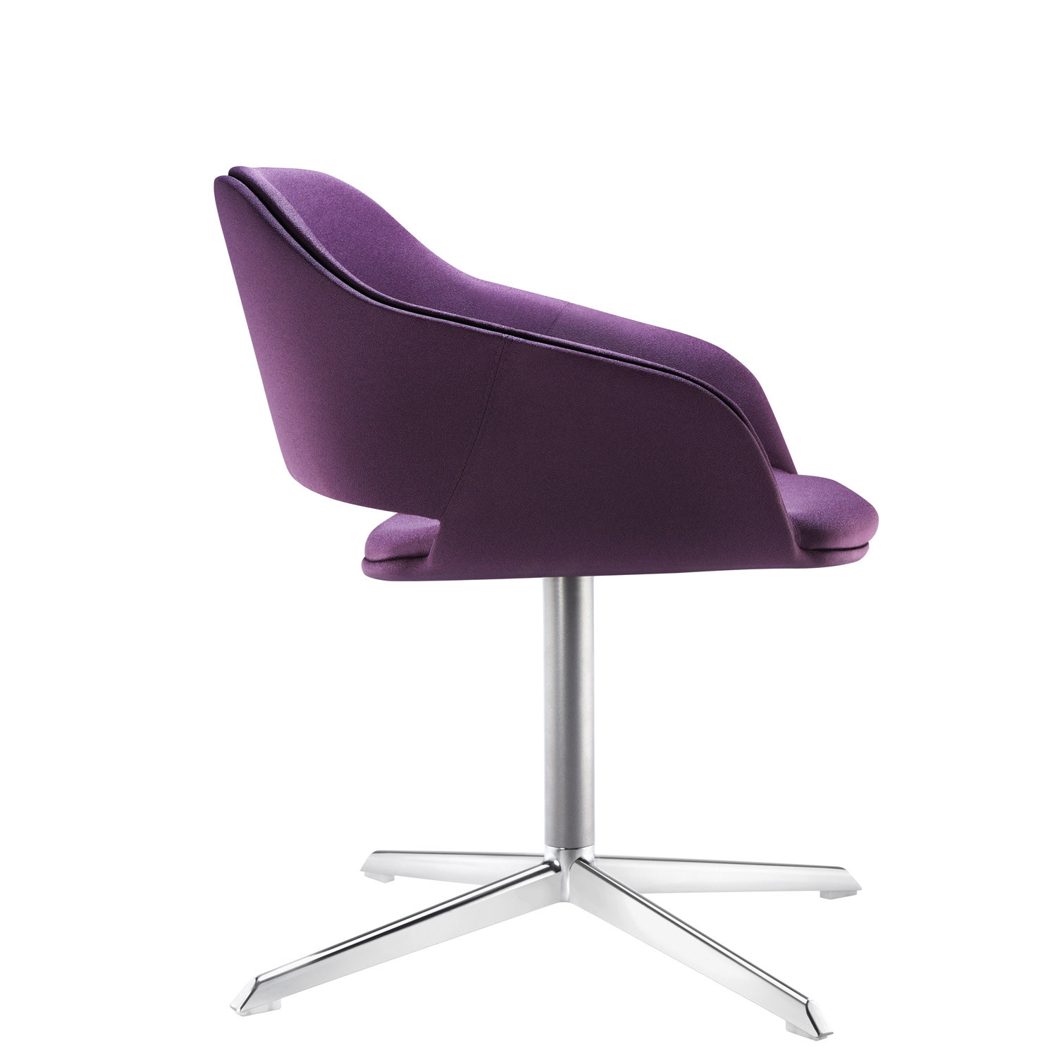 Halo Upholstered Swivel Chair