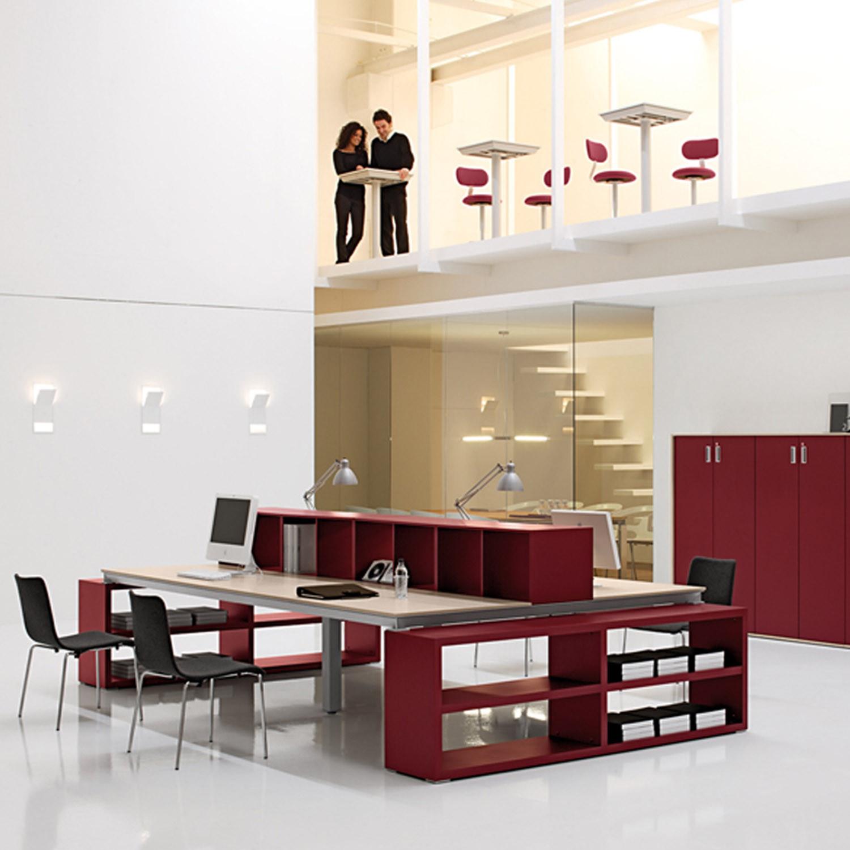 Han Bench Desk in Open Office