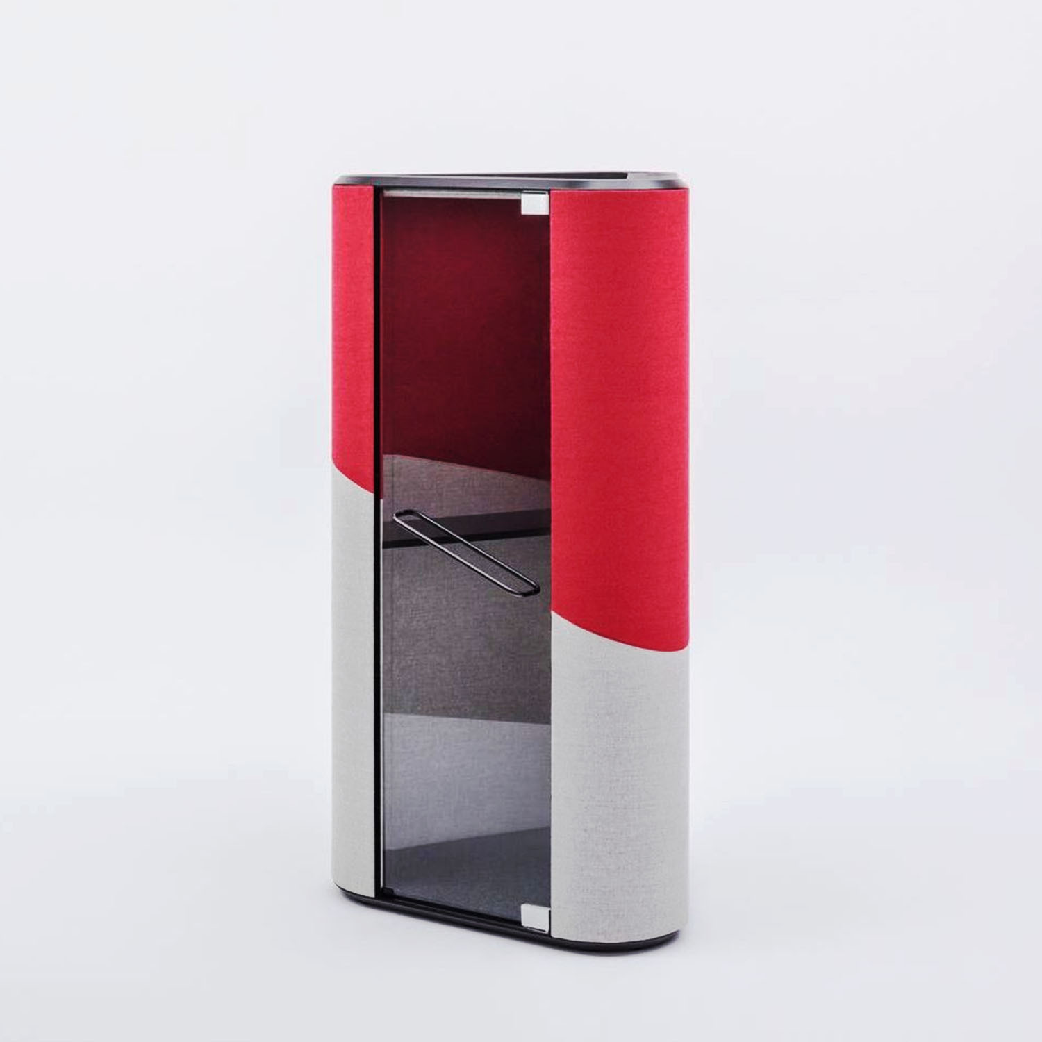 Hana Acoustic Phone Booth Side Angle