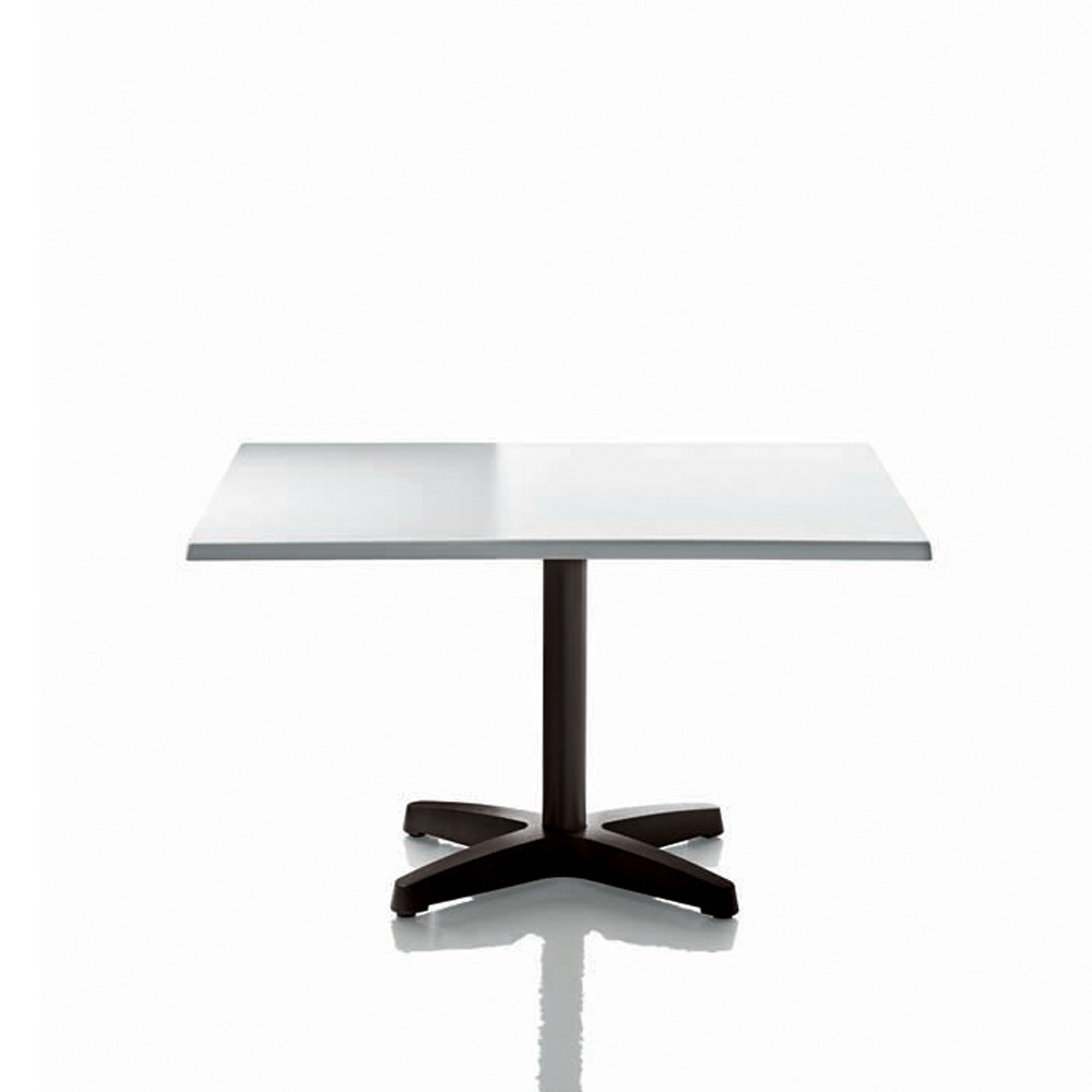 Happyhour Outdoor Table with Square White 9000 Tabletop