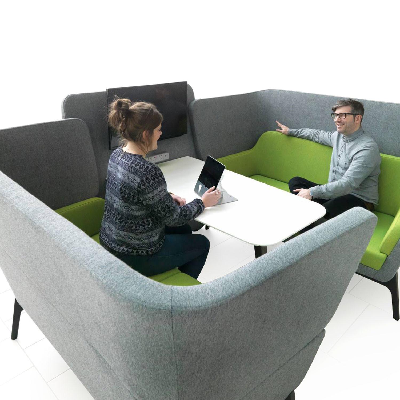 Harc Booth High Back Sofa
