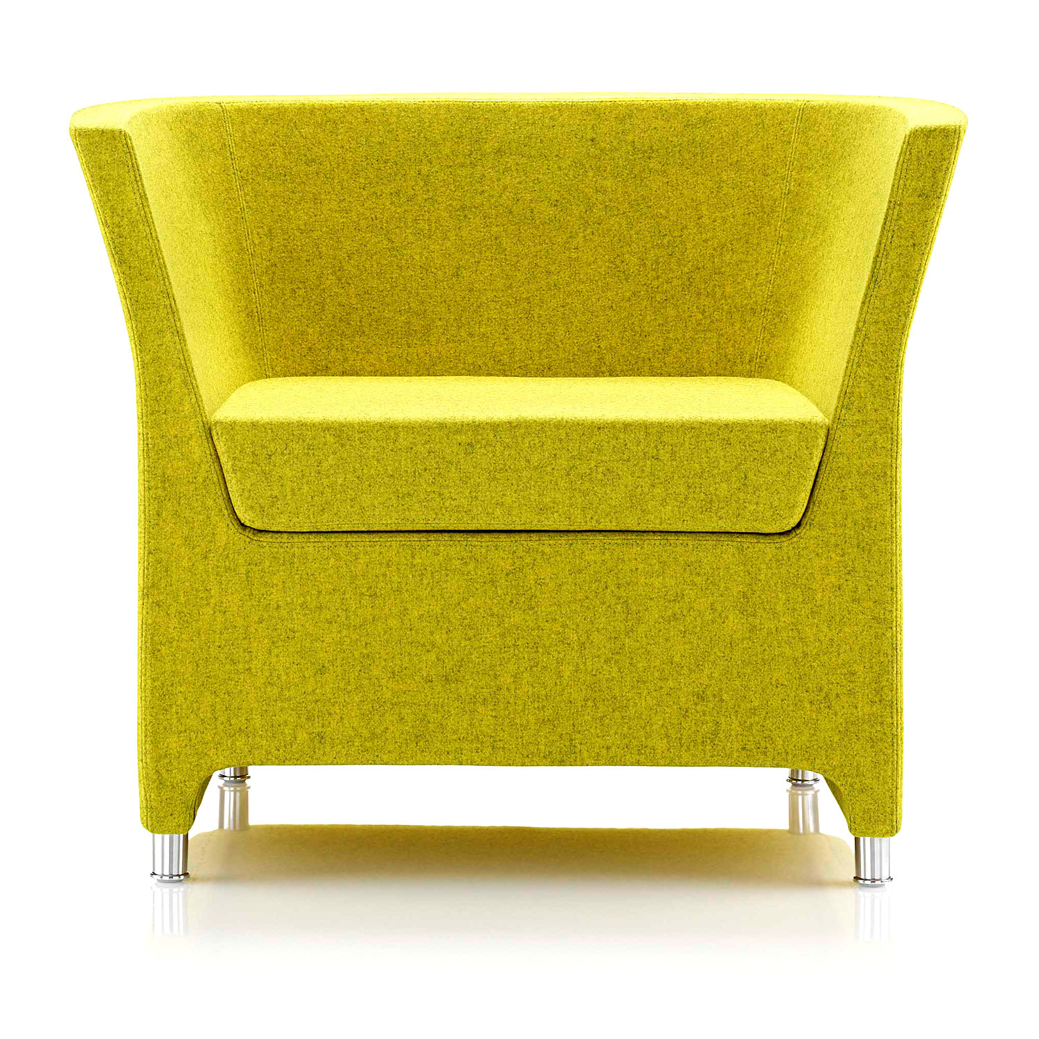 Tom, Dick & Harry Fully Upholstered Reception Armchair