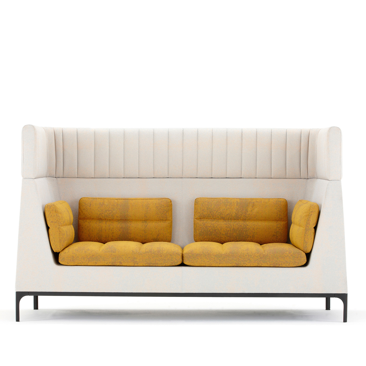 Haven High Back Sofa Acoustic Soft Seating Apres Furniture