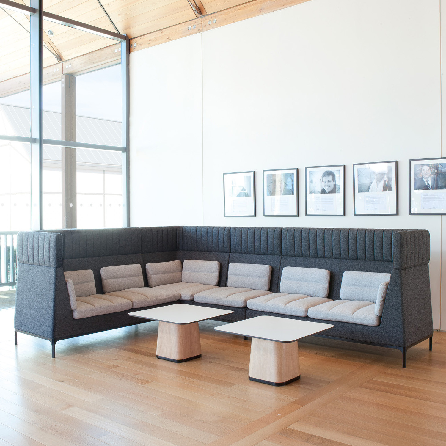 Haven High Back Sofa | Haven Acoustic Soft Seating | Apres Furniture