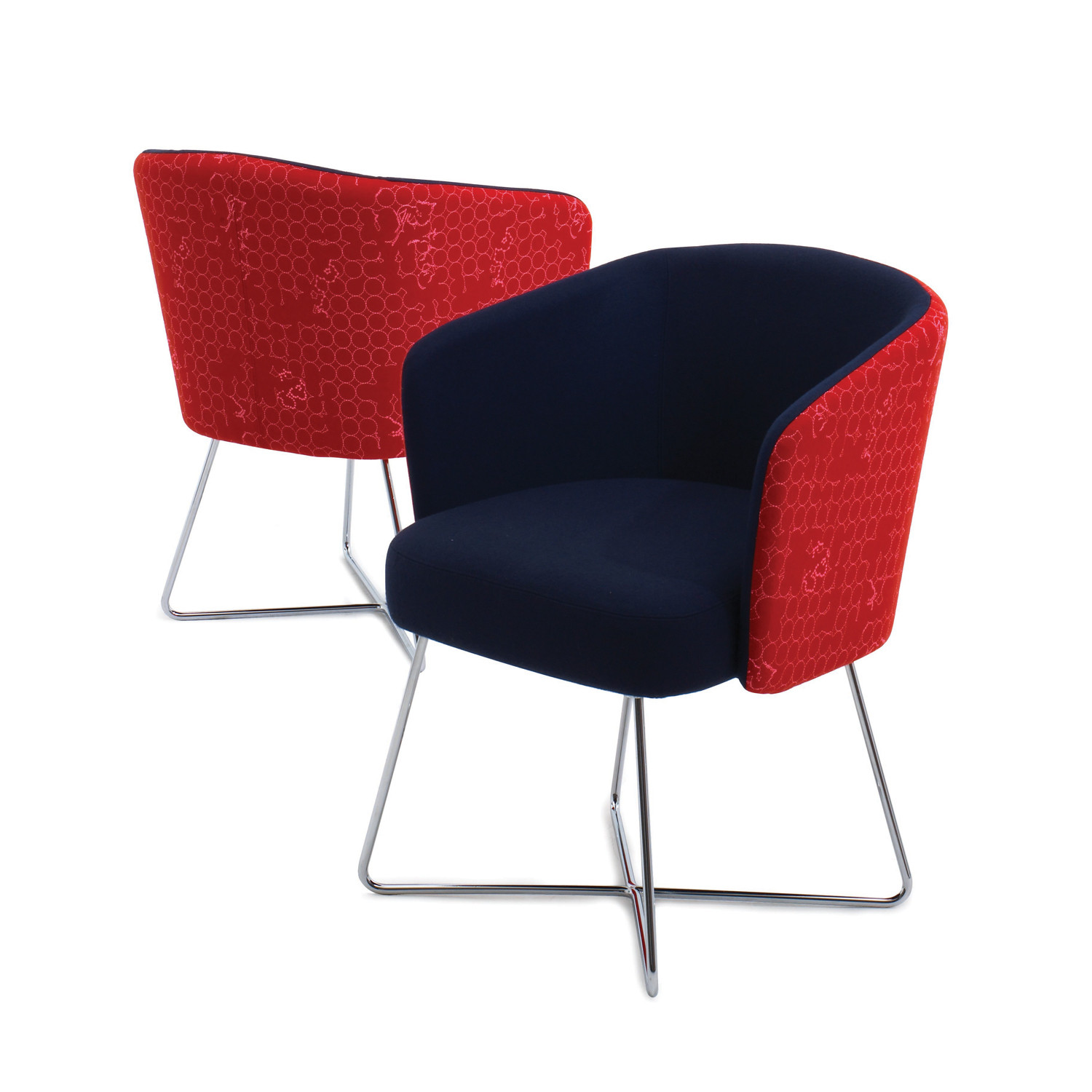Hay Wire Frame Base Chairs