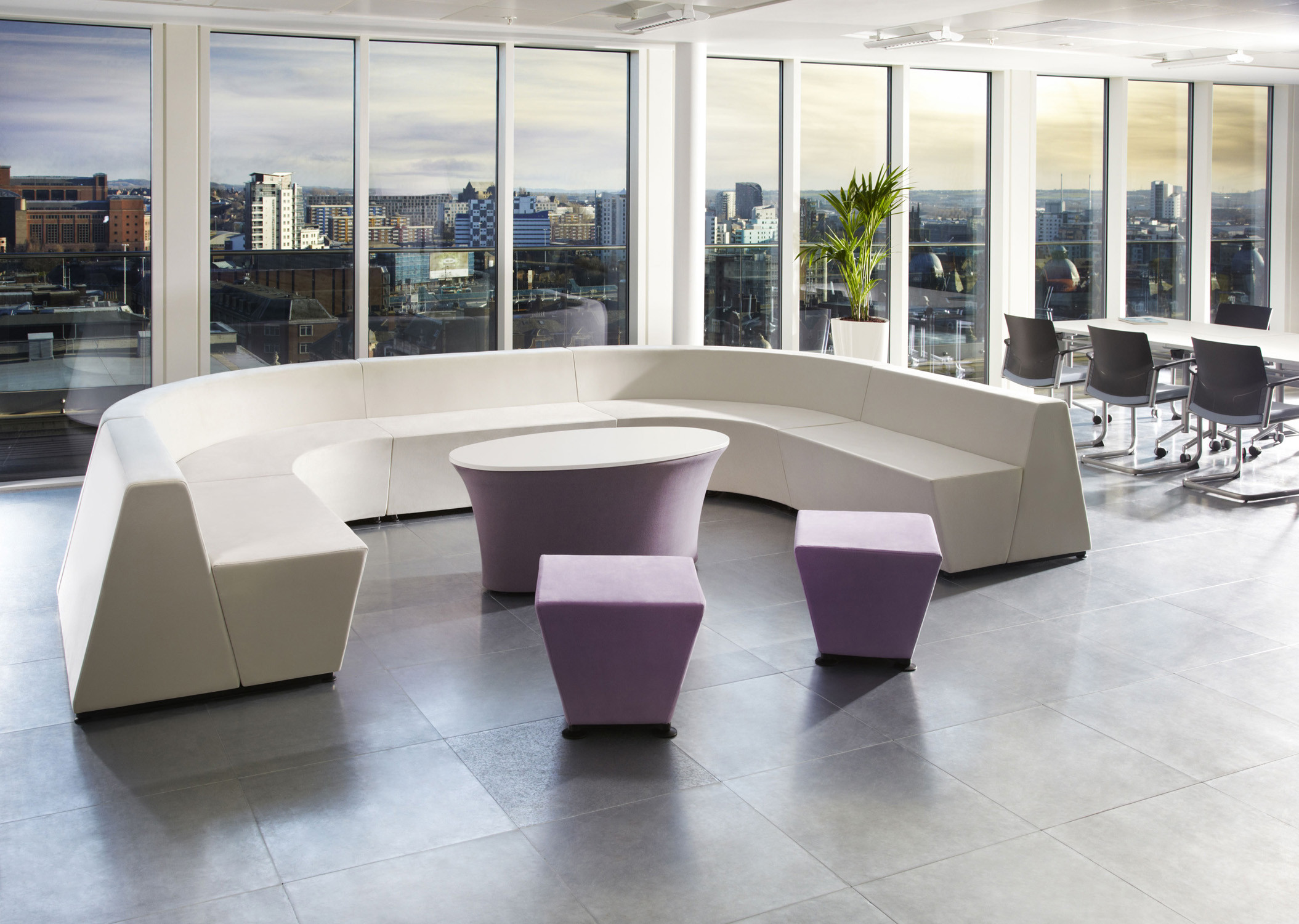 Hive Modular Workbay Sofa by Connection