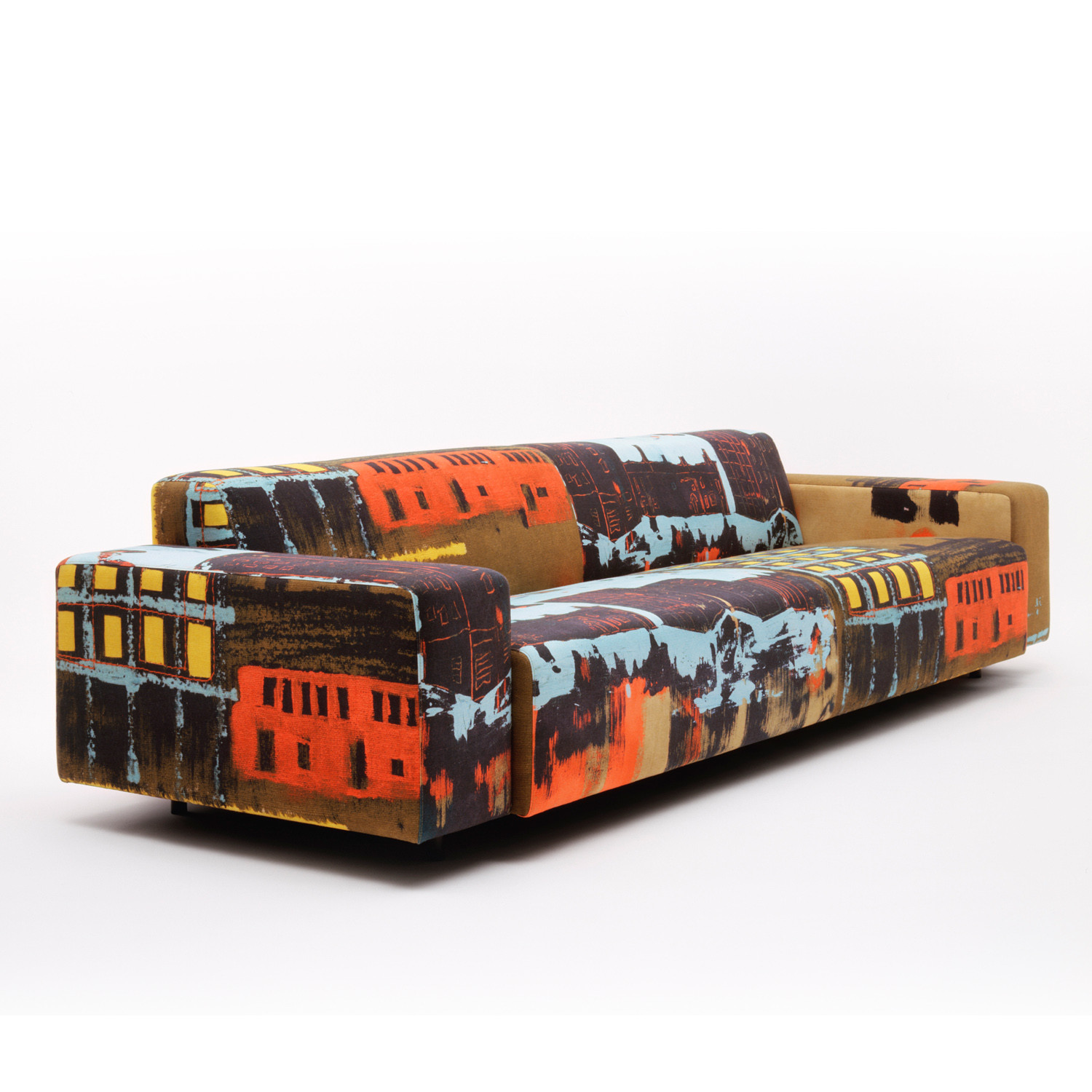 HM17 Sofa is available in a wide range of fabrics and leathers
