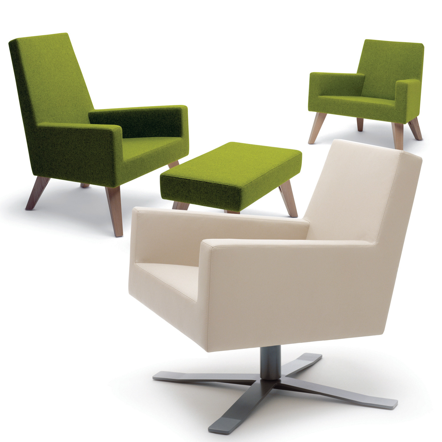 HM44 Reception Seating Range and Footstool