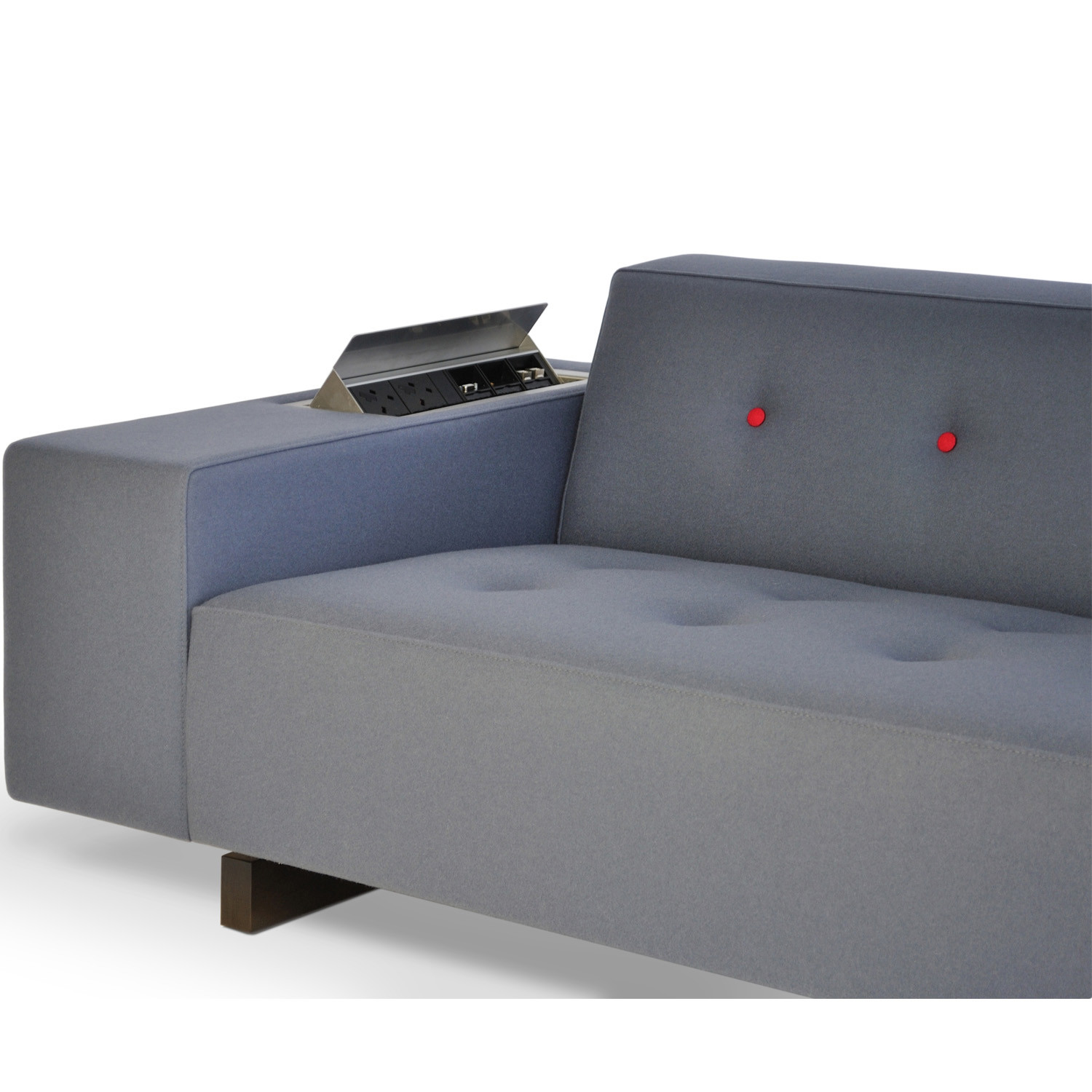 HM46 Seating - armrest with power data detail