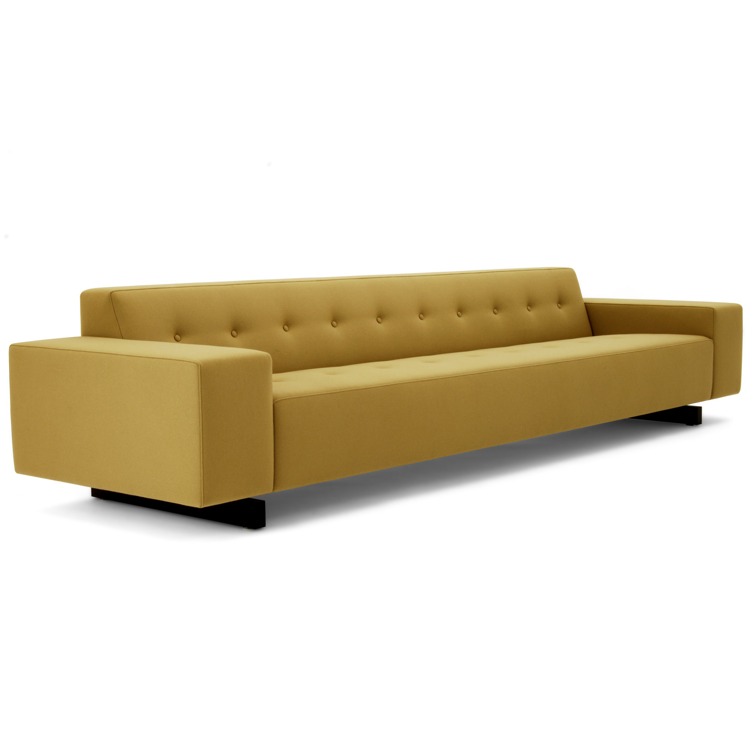 HM46r Sofa Upholstered in Leather