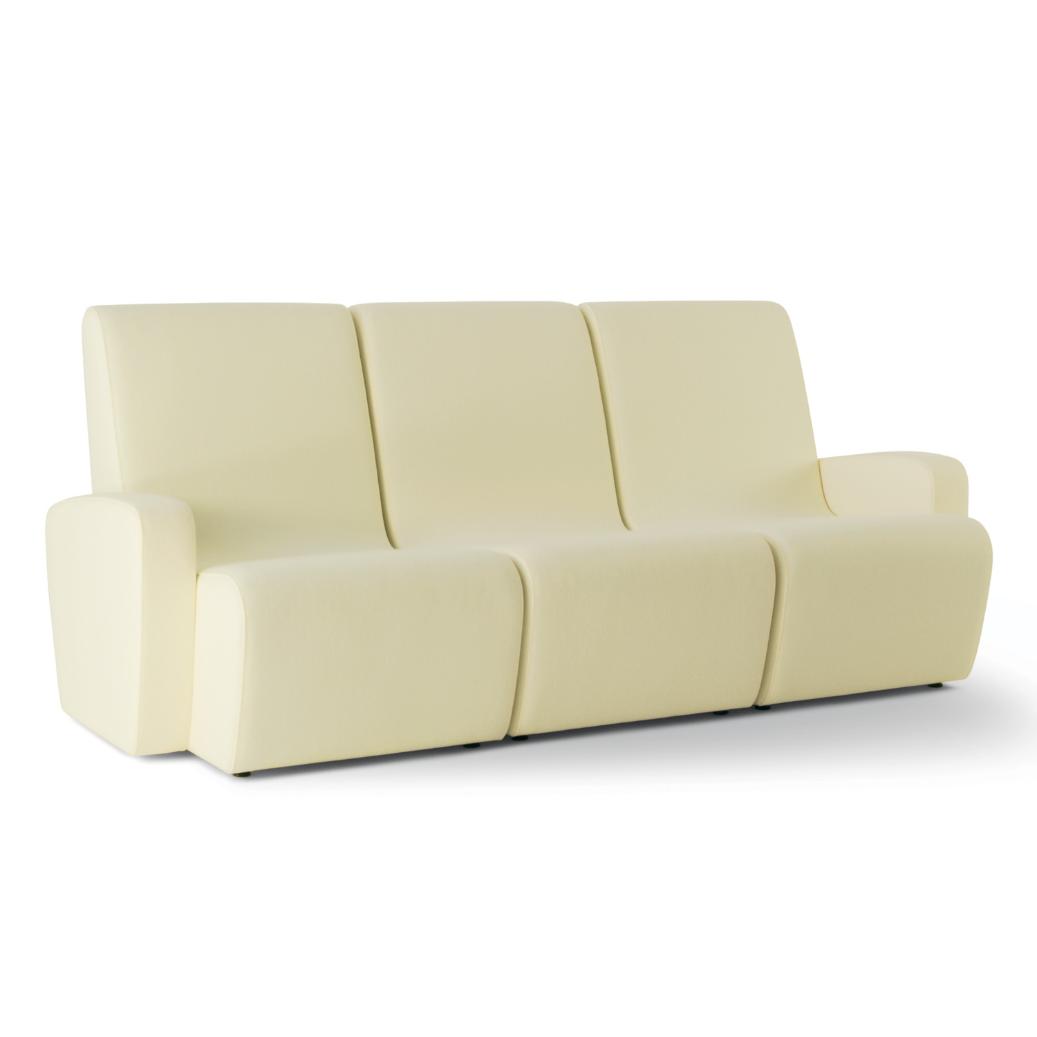 HM55a chair, HM55b and HM55c Seating Units