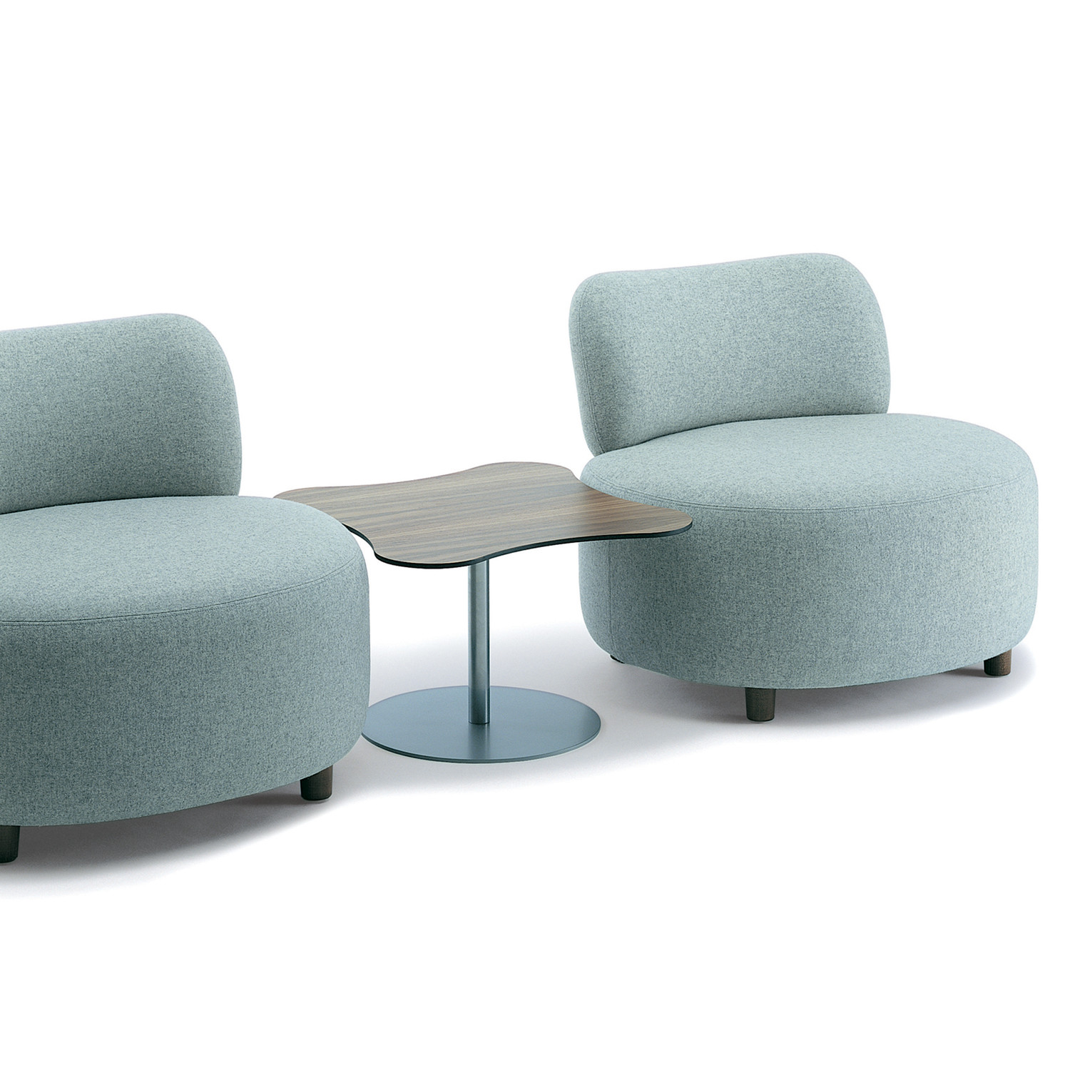 HM61 Oxo Chairs + HM61e Side Table