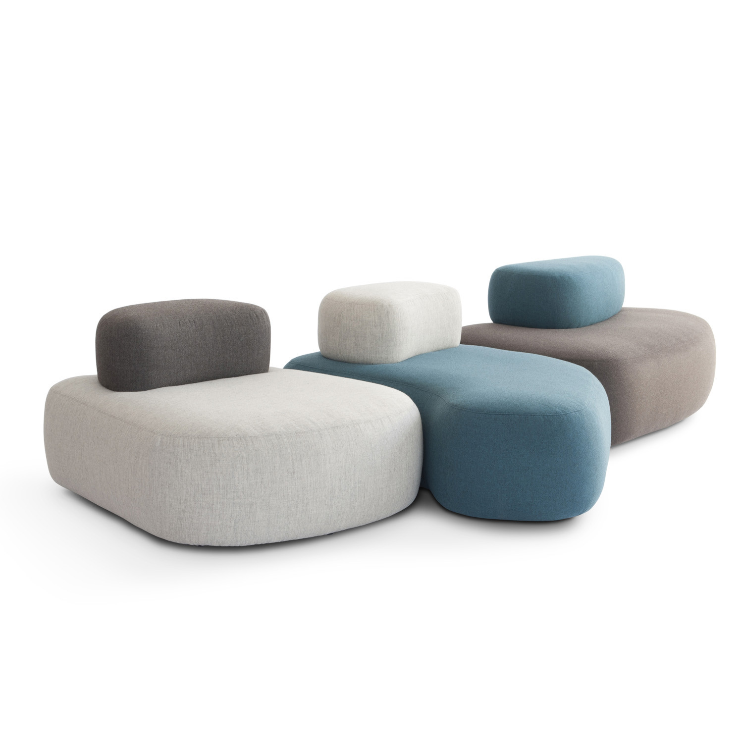 HM63 Upholstered Low Stools