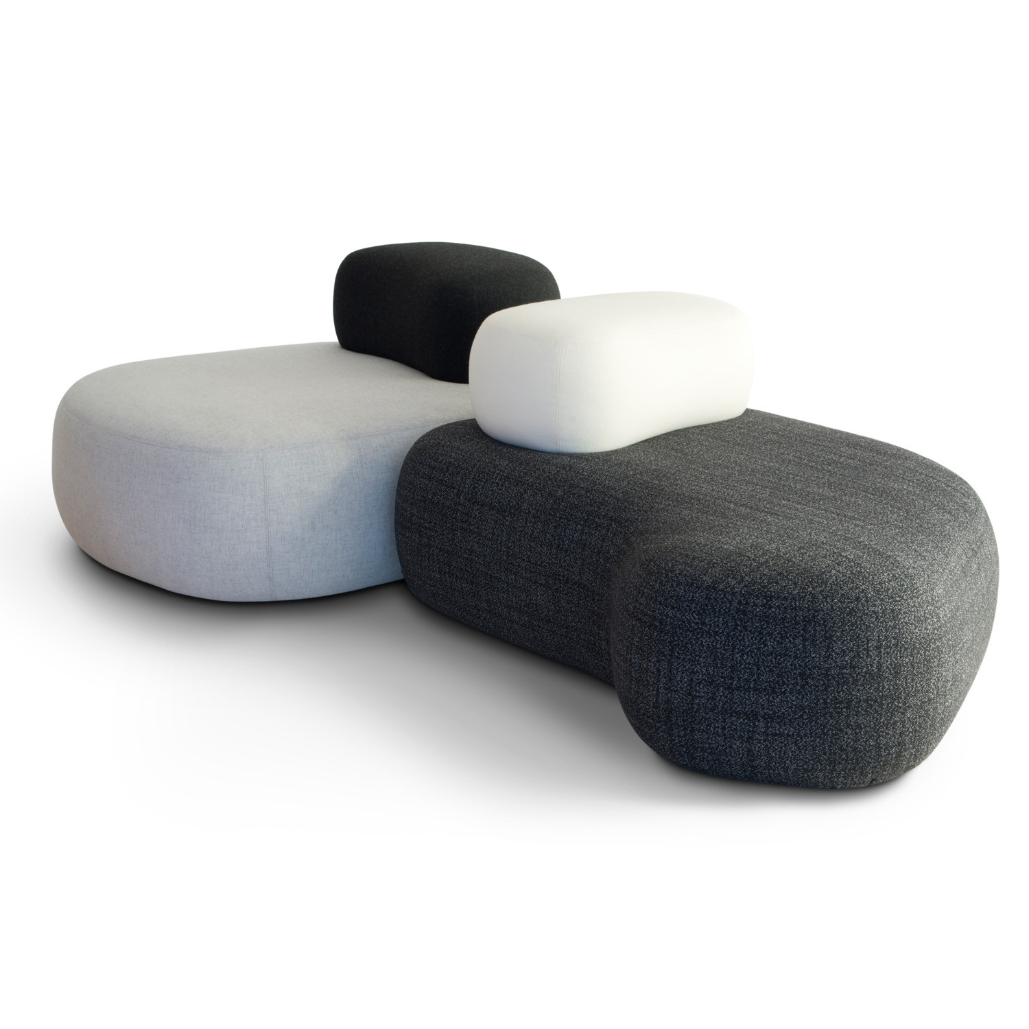HM63 Organic Pebble Seating