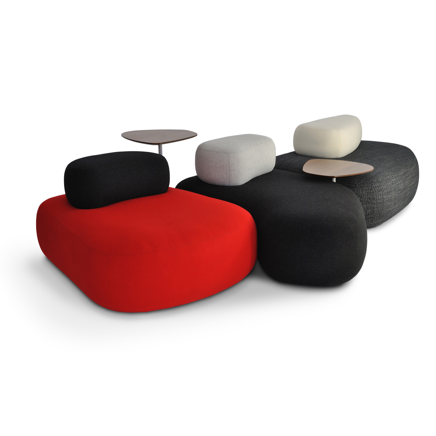 HM63 Pebble Soft Seating and Tables