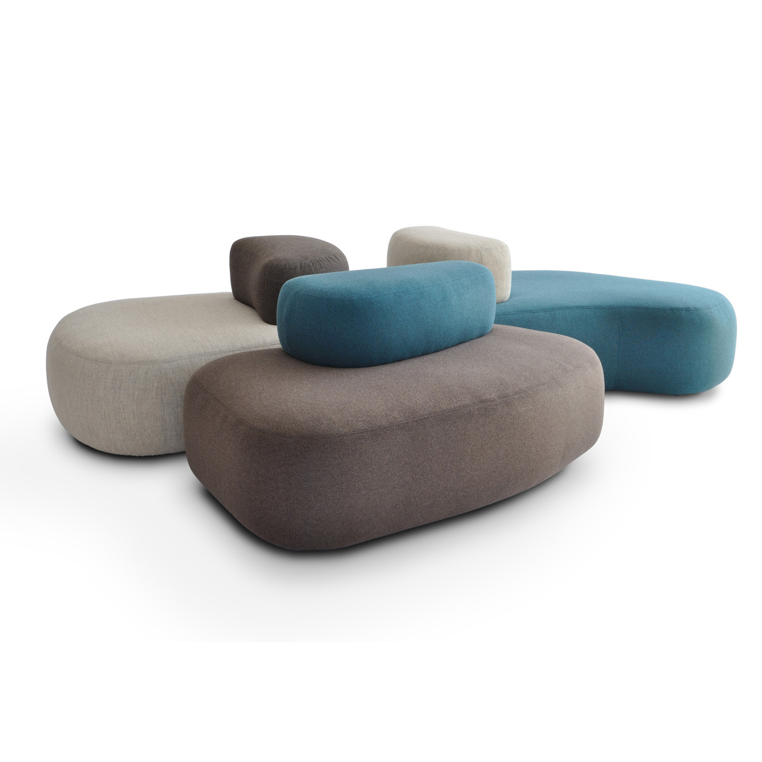 HM63 Organic Seating from Nigel Coates