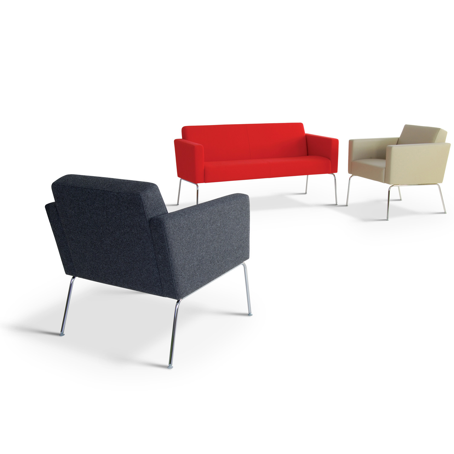 HM66 Armchairs and HM66 Sofa