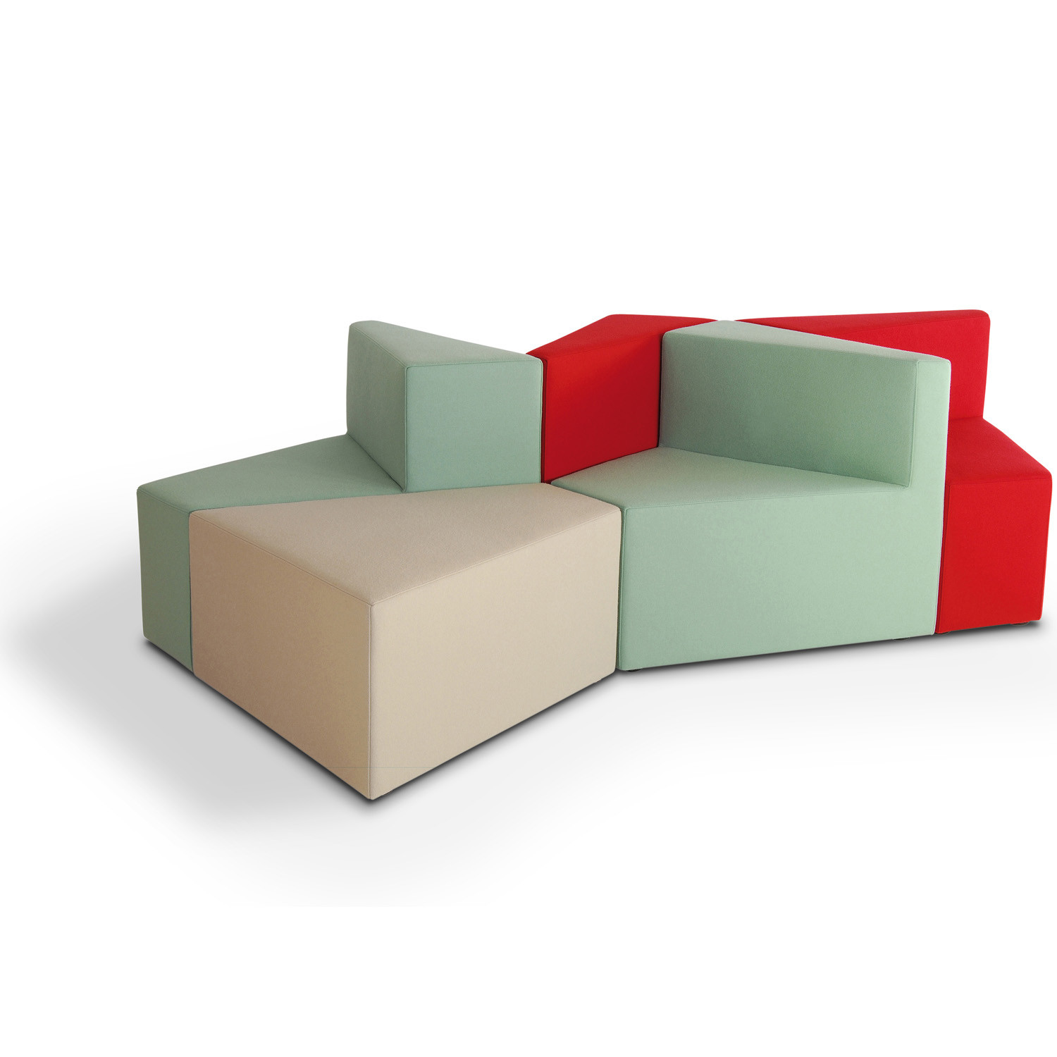 HM77 Modular Upholstered Seating