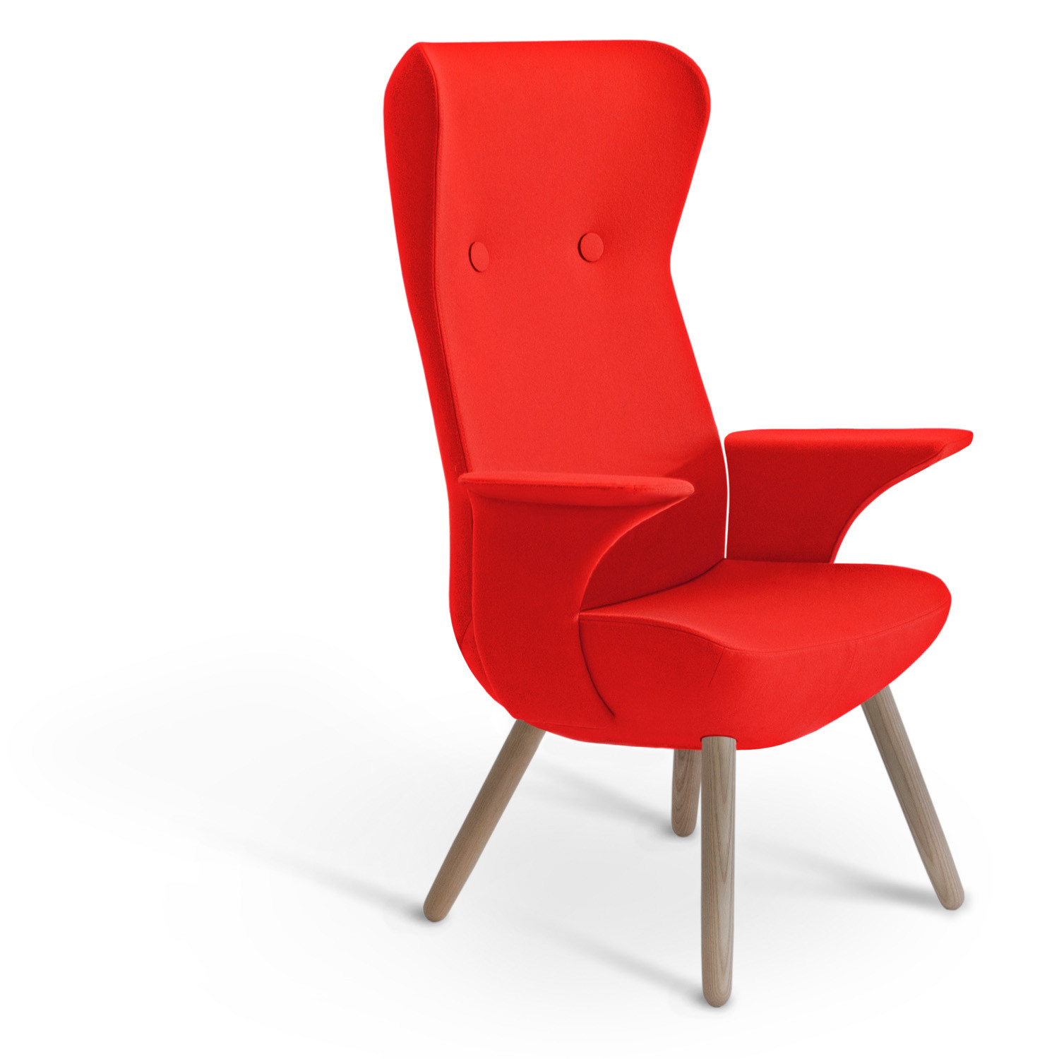 HM82 4-Legged High Back Armchair