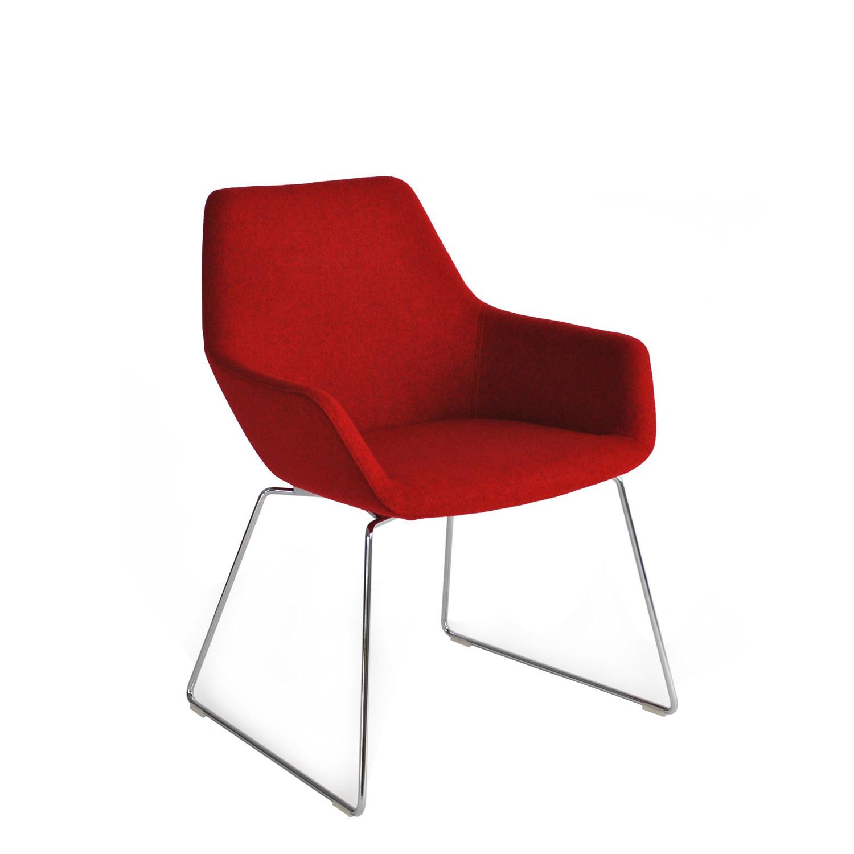 Hm86 Armchair with Sledbase