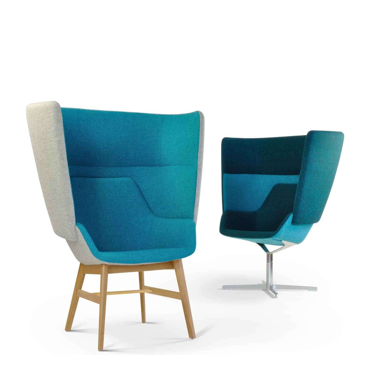 HM87 Highback Privacy Armchairs