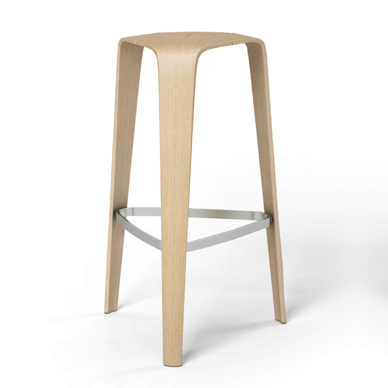 Hoc Bar Stool available in various finishes