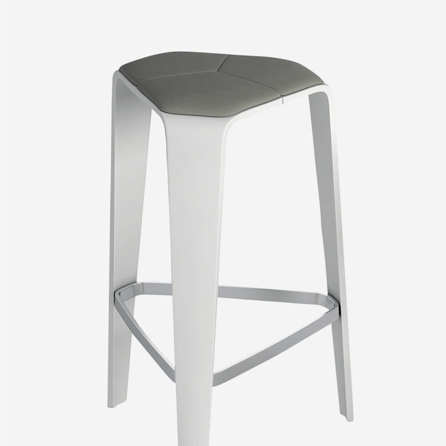 Hoc Bar Height Stool with Seat Liner