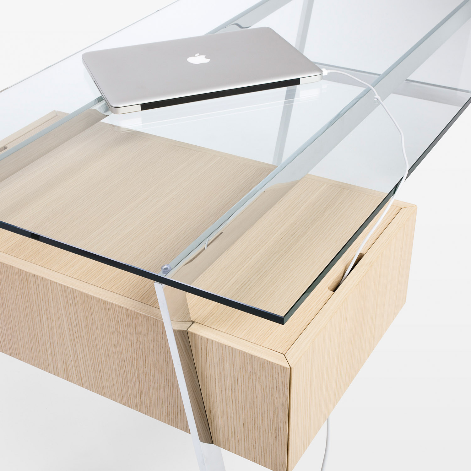 Homework Glass Desk