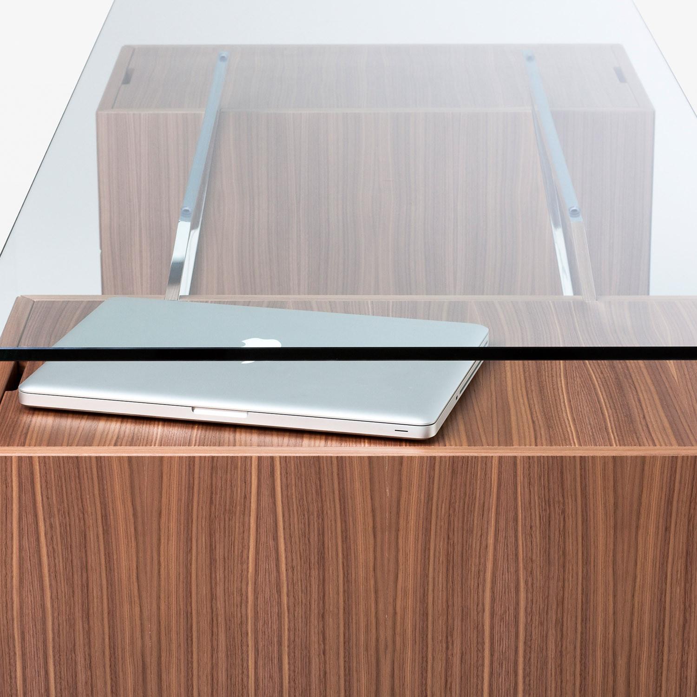 Homework Glass Desk