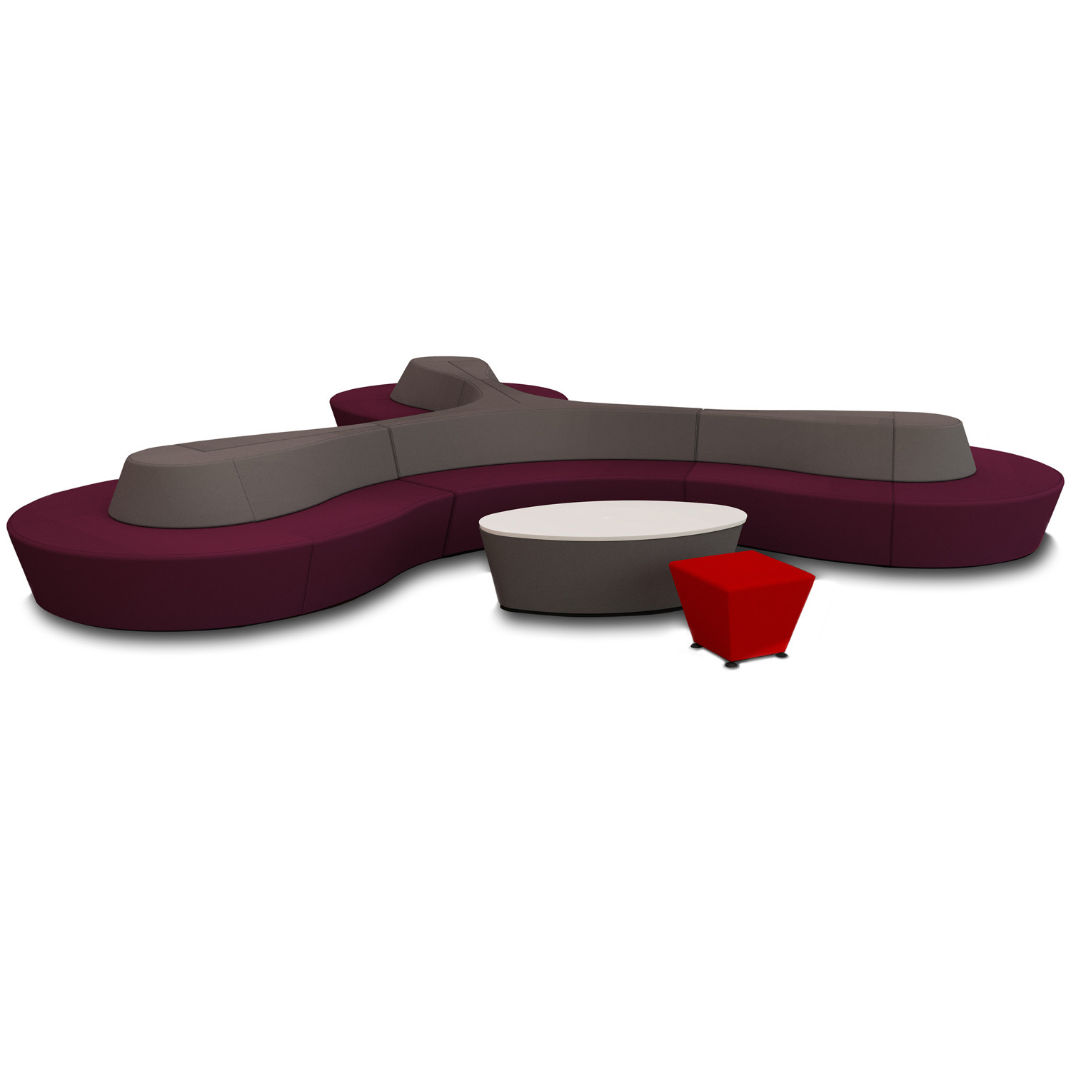 Horizon Modular Soft Seating