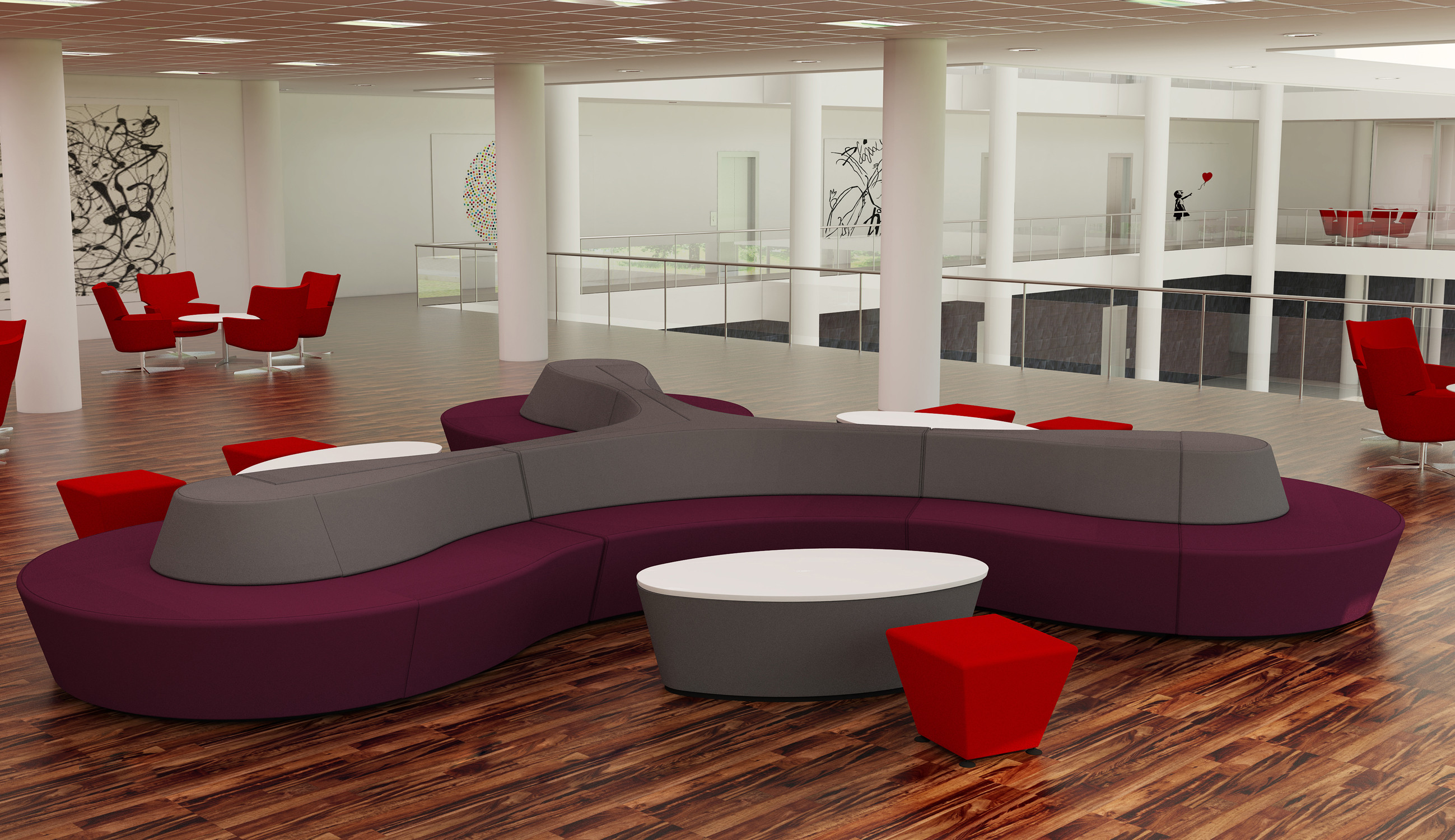 Horizon Soft Seating by Connection UK