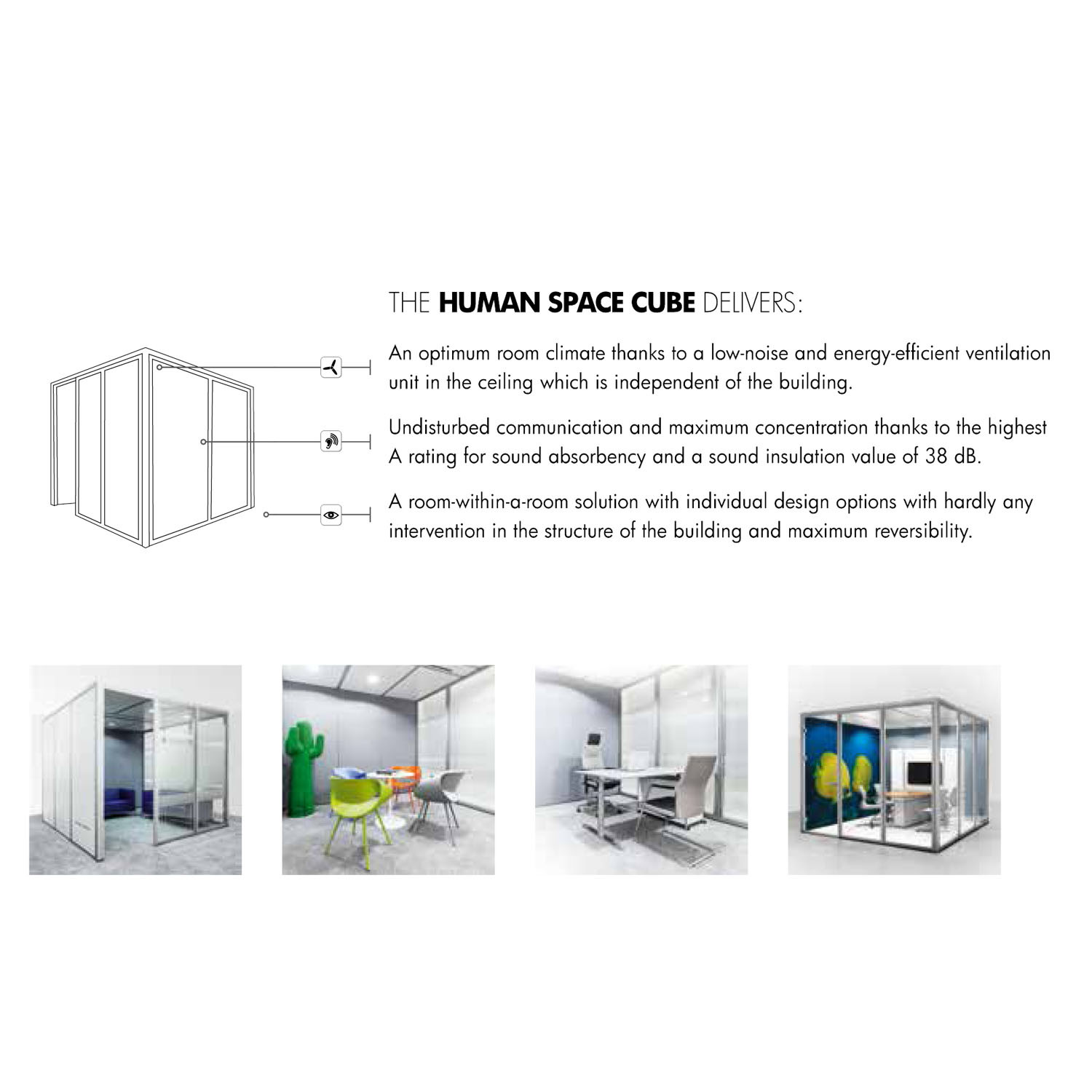 Bosse Human Space Office Meeting Pods