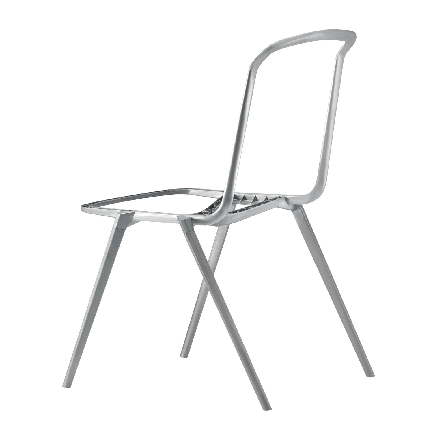 Hydrochair structure in die-cast aluminium