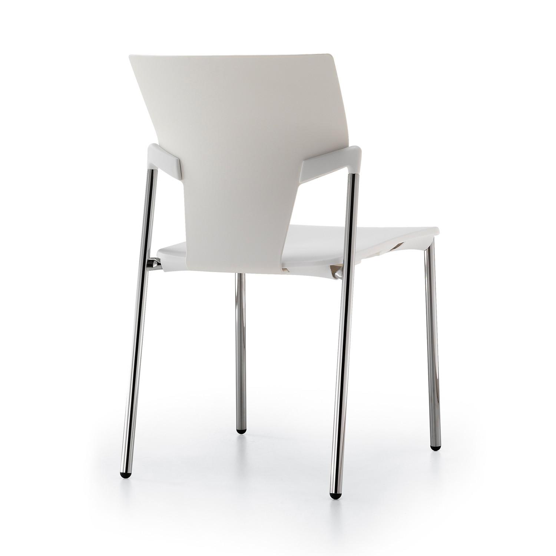 Ikon White Chair