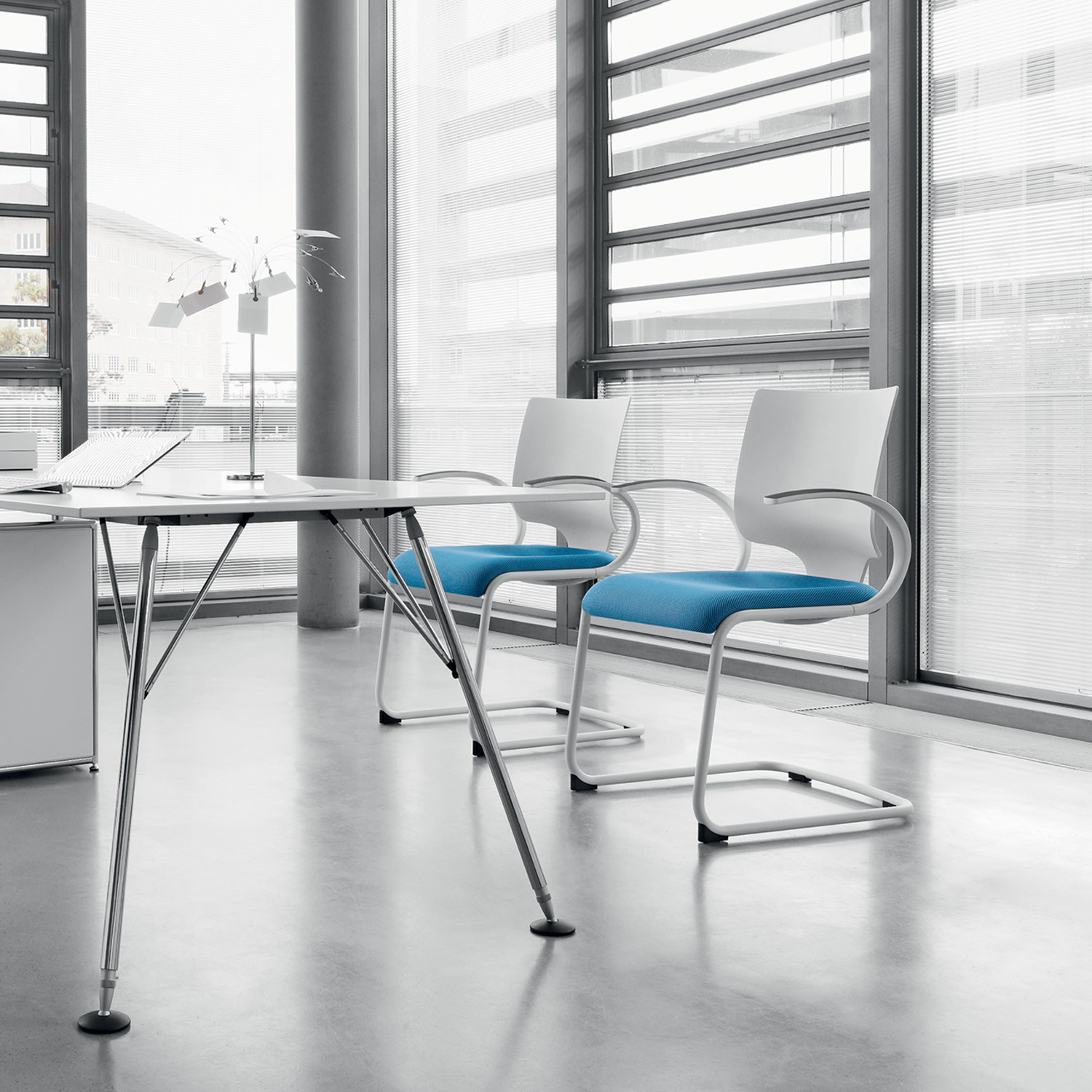 In Touch Visitor Chairs by Dauphin Office