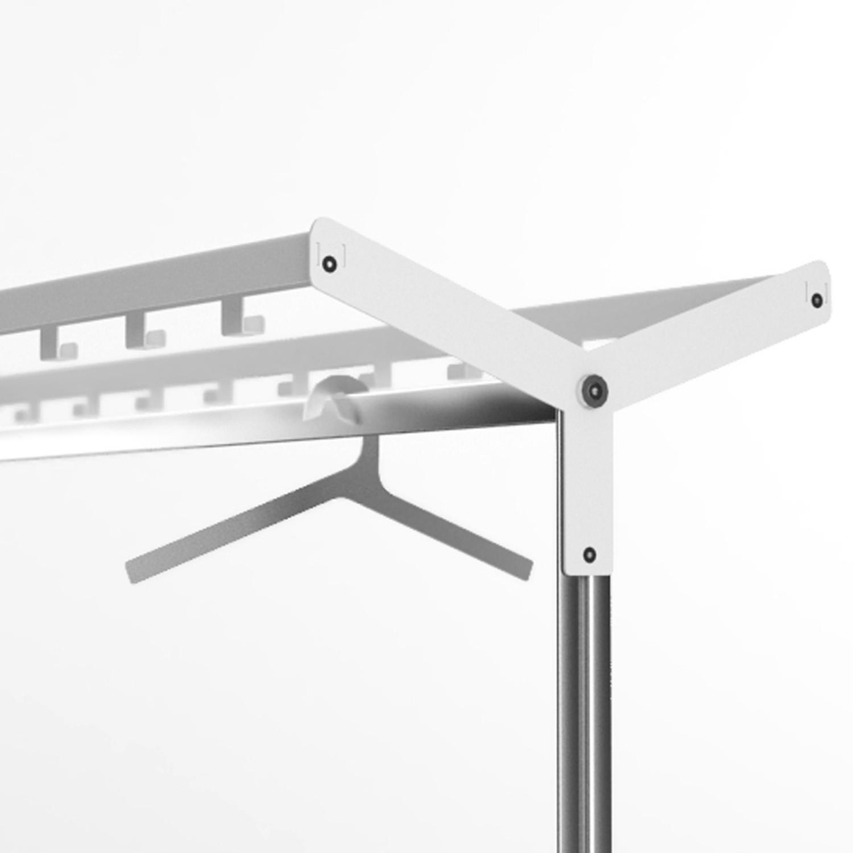 Inlin Coat Stand Aluminium Hangers
